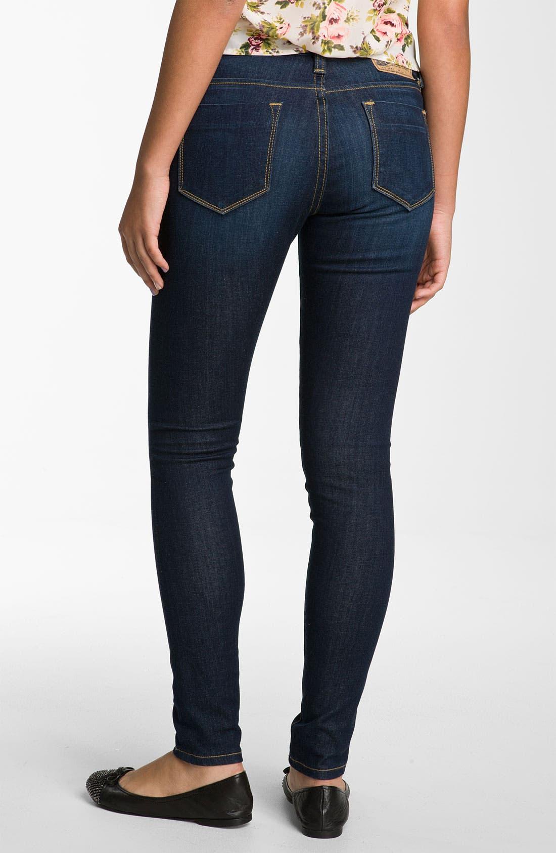 Skinny Jeans,                         Main,                         color, Dark Wash