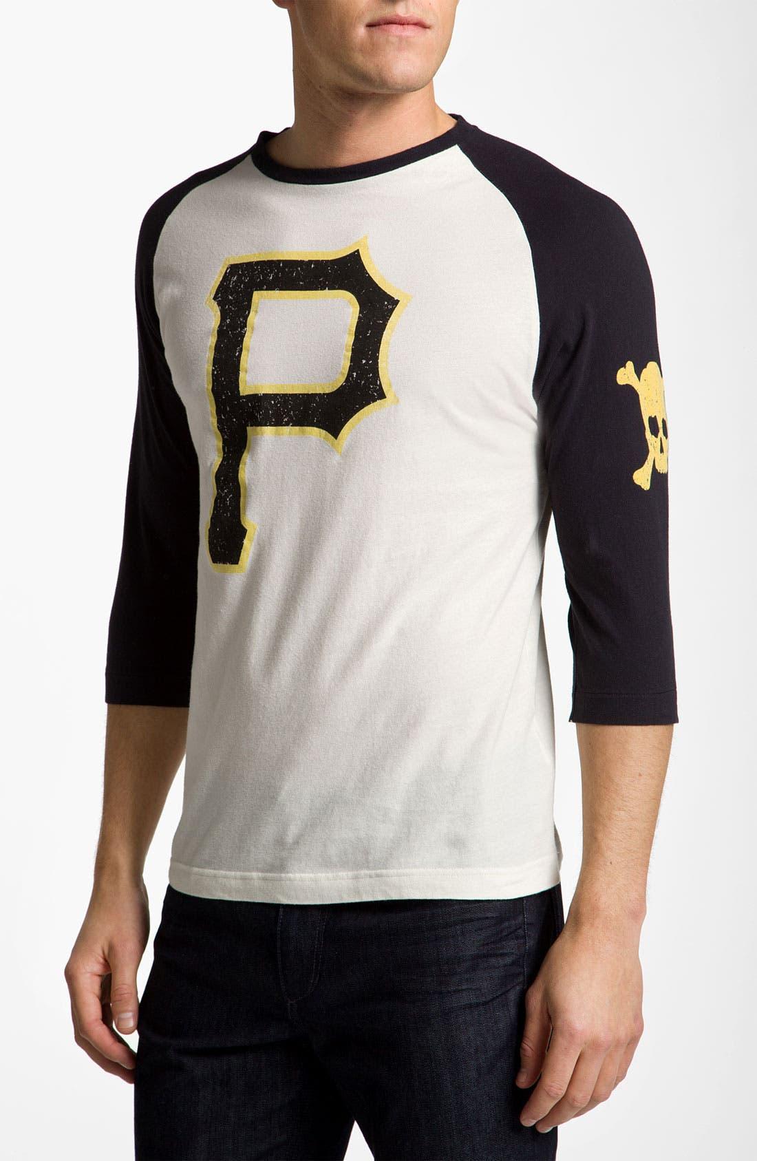 Alternate Image 1 Selected - Wright & Ditson 'Pittsburgh Pirates' Baseball T-Shirt