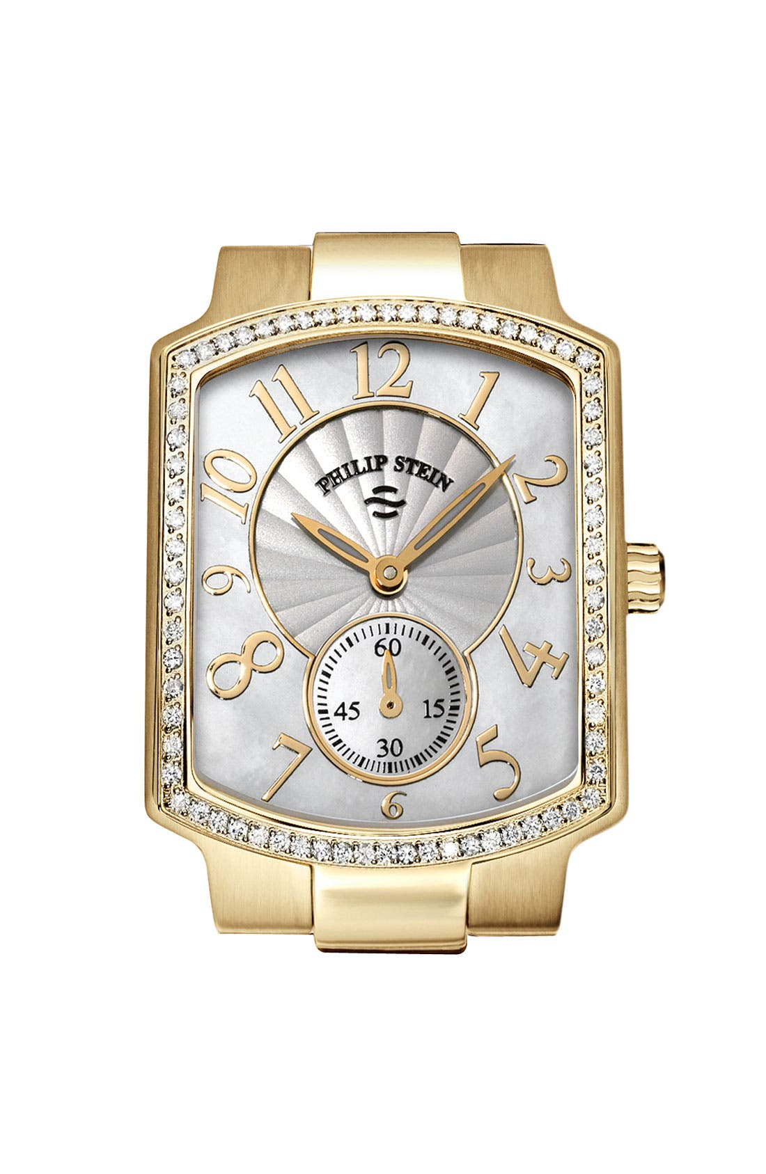 Alternate Image 1 Selected - Philip Stein® 'Classic' Ladies' Small Diamond Watch Case, 29mm x 37mm