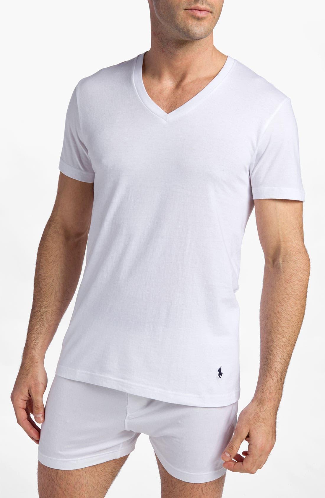 Main Image - Polo Ralph Lauren 3-Pack V-Neck T-Shirts