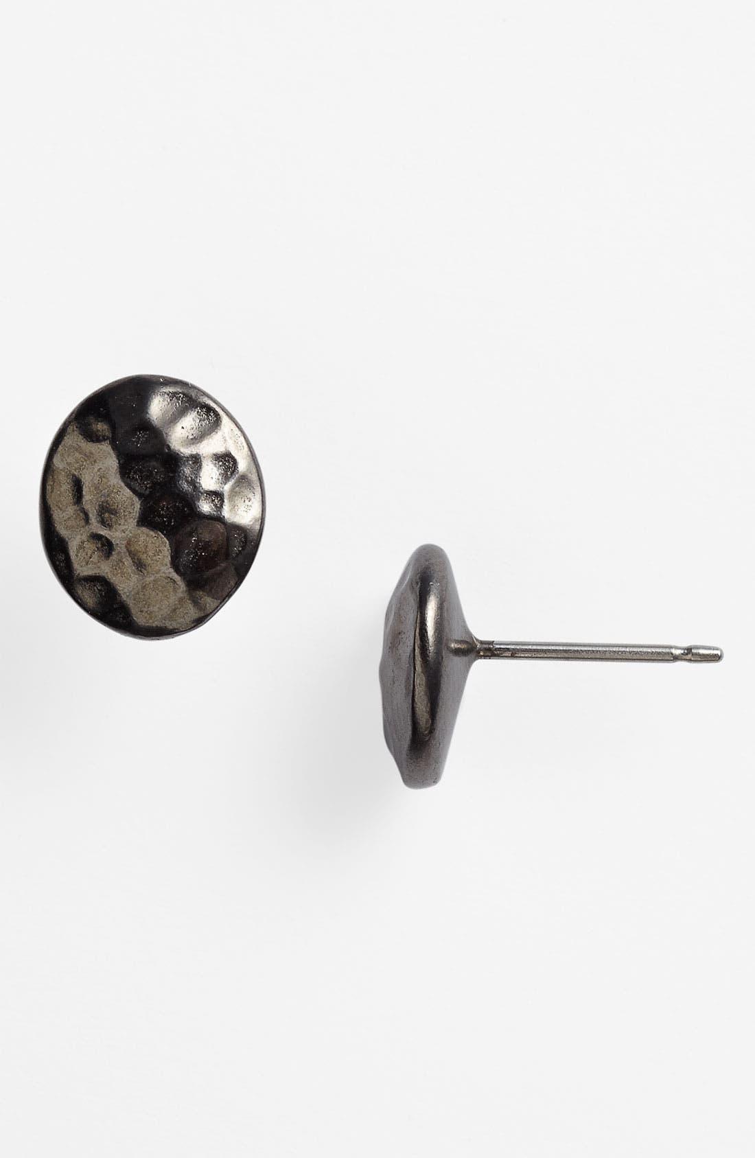 Alternate Image 1 Selected - Nordstrom Textured Stud Earrings