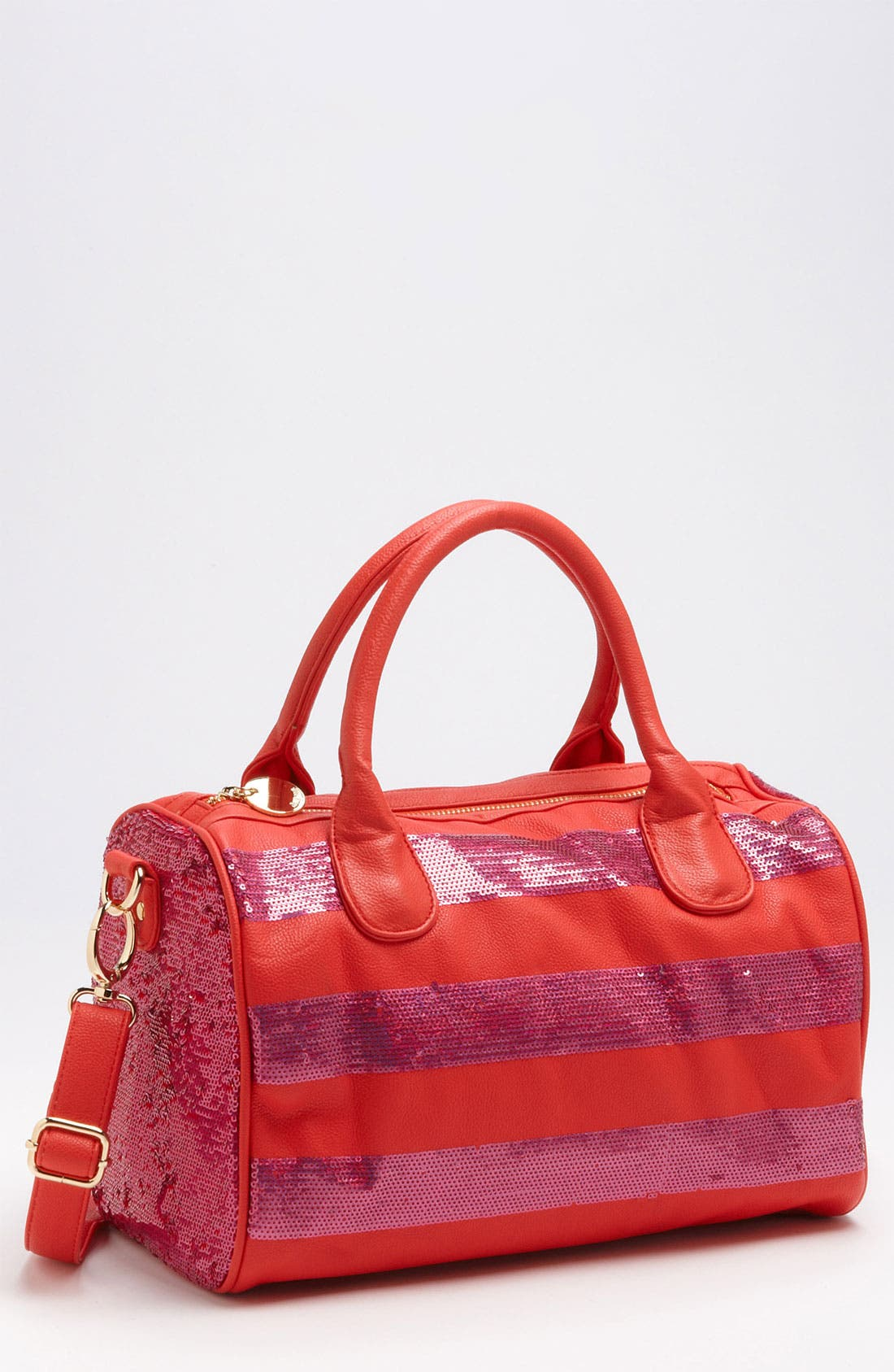 Alternate Image 1 Selected - Deux Lux 'Lucky' Sequin Stripe Satchel