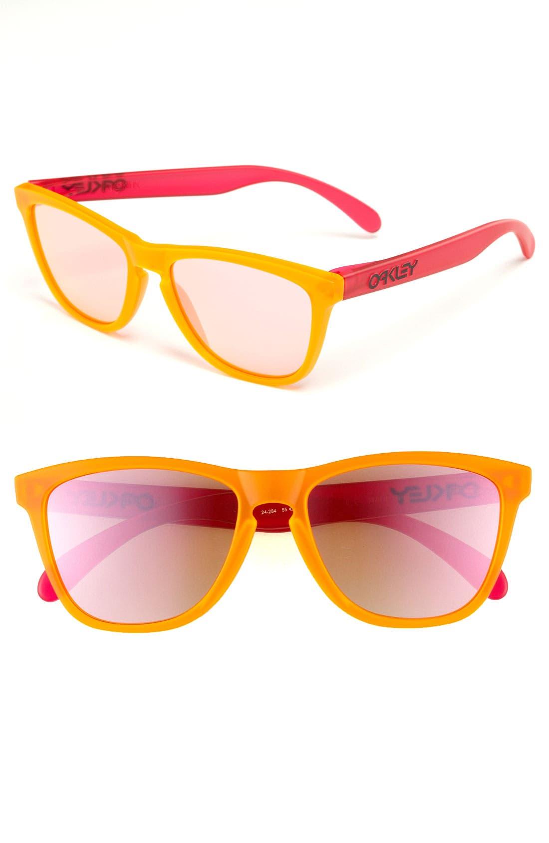 Alternate Image 1 Selected - Oakley 'Frogskins® - Blacklight Edition' 57mm Sunglasses
