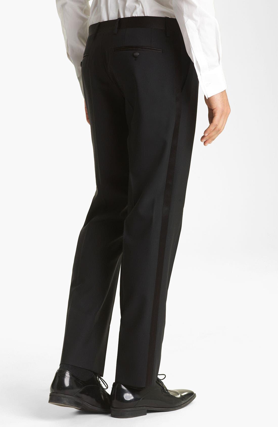 Alternate Image 7  - Dolce&Gabbana Velvet Trimmed Designer Tuxedo
