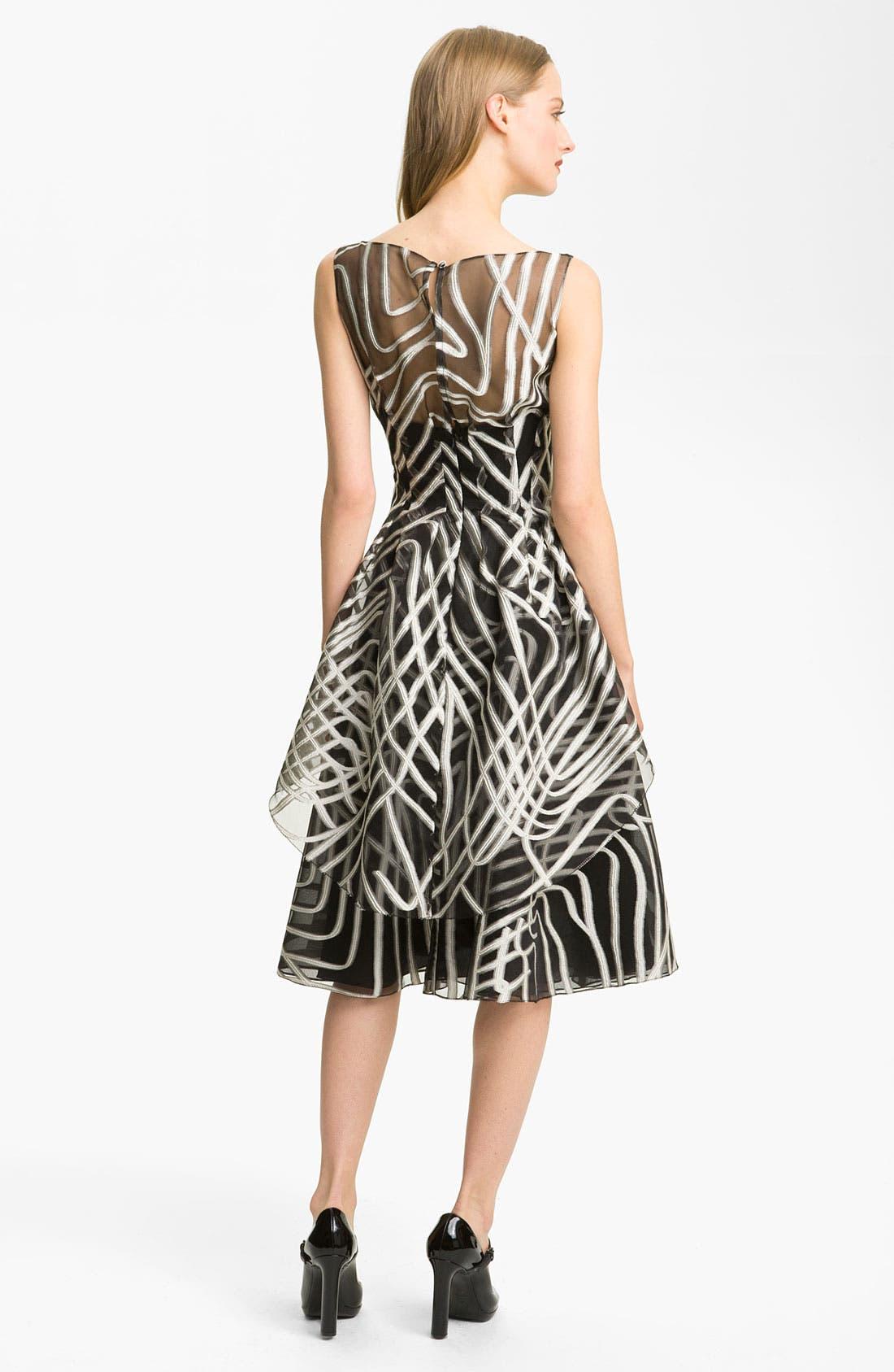 Alternate Image 2  - Lela Rose Layered Organza Dress