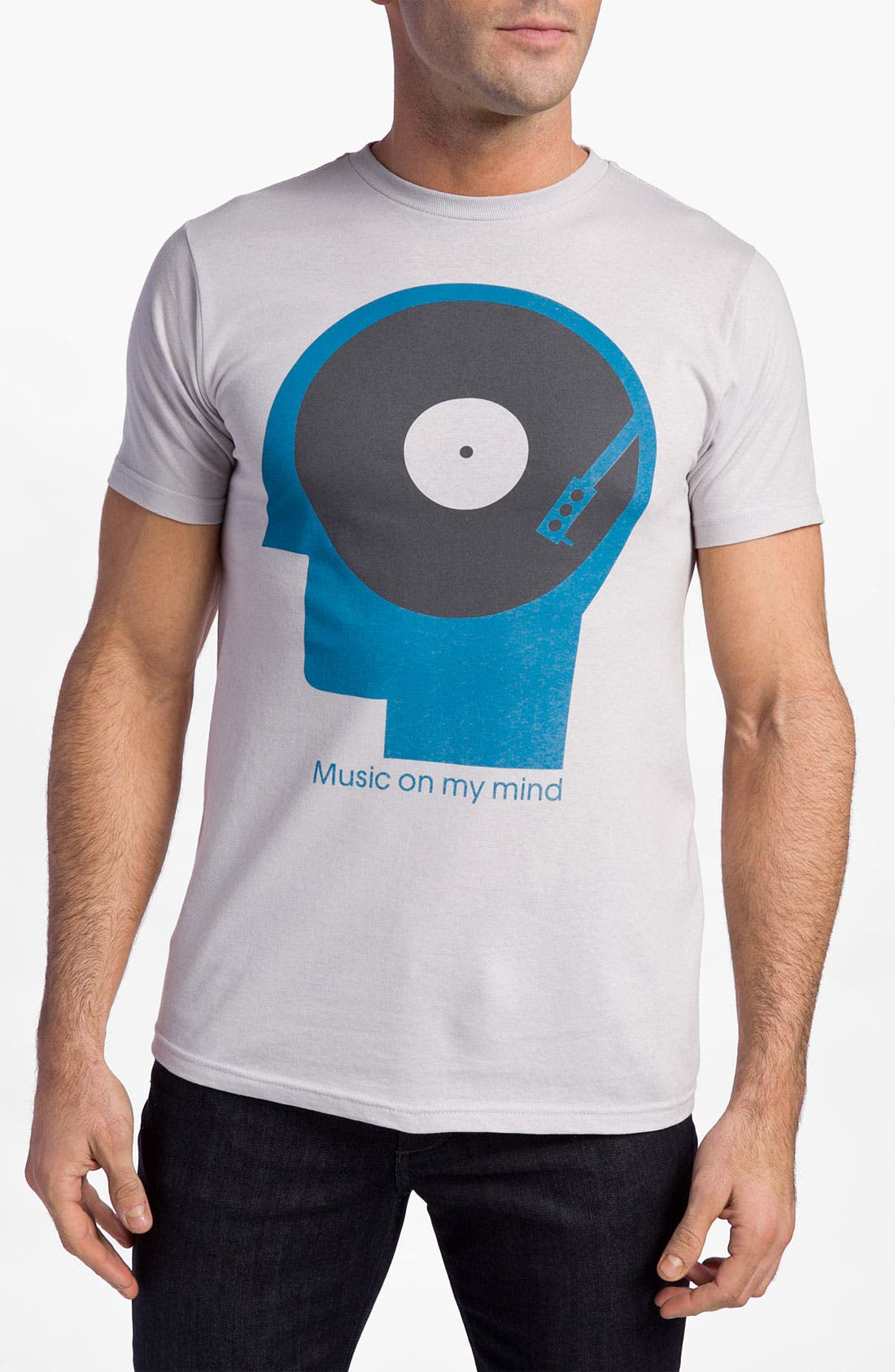 Alternate Image 1 Selected - PalmerCash 'Music on My Mind' T-Shirt