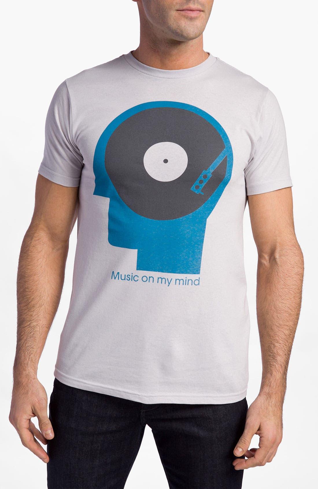 Main Image - PalmerCash 'Music on My Mind' T-Shirt