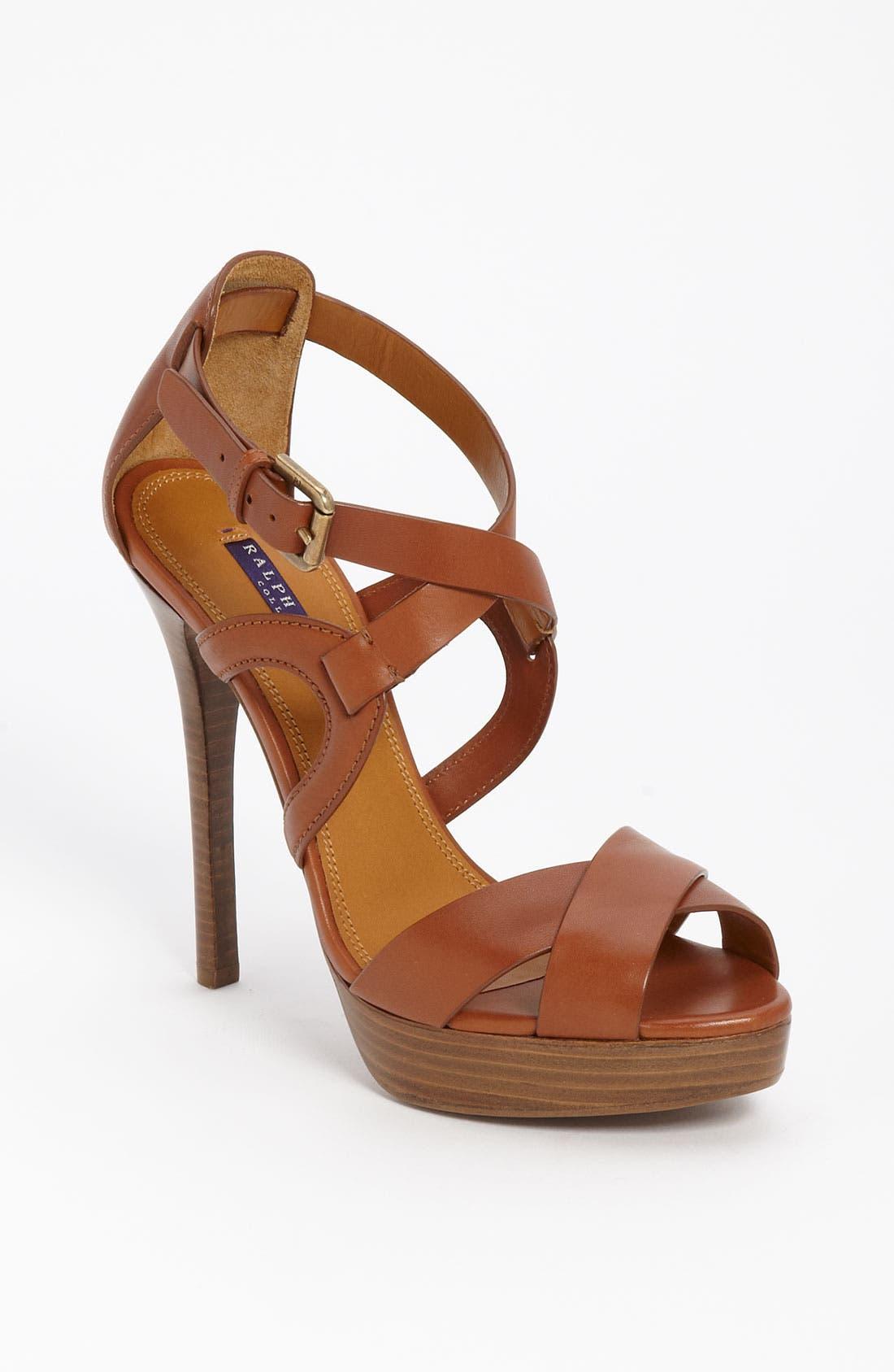 Alternate Image 1 Selected - Ralph Lauren Collection 'Jesita' Sandal