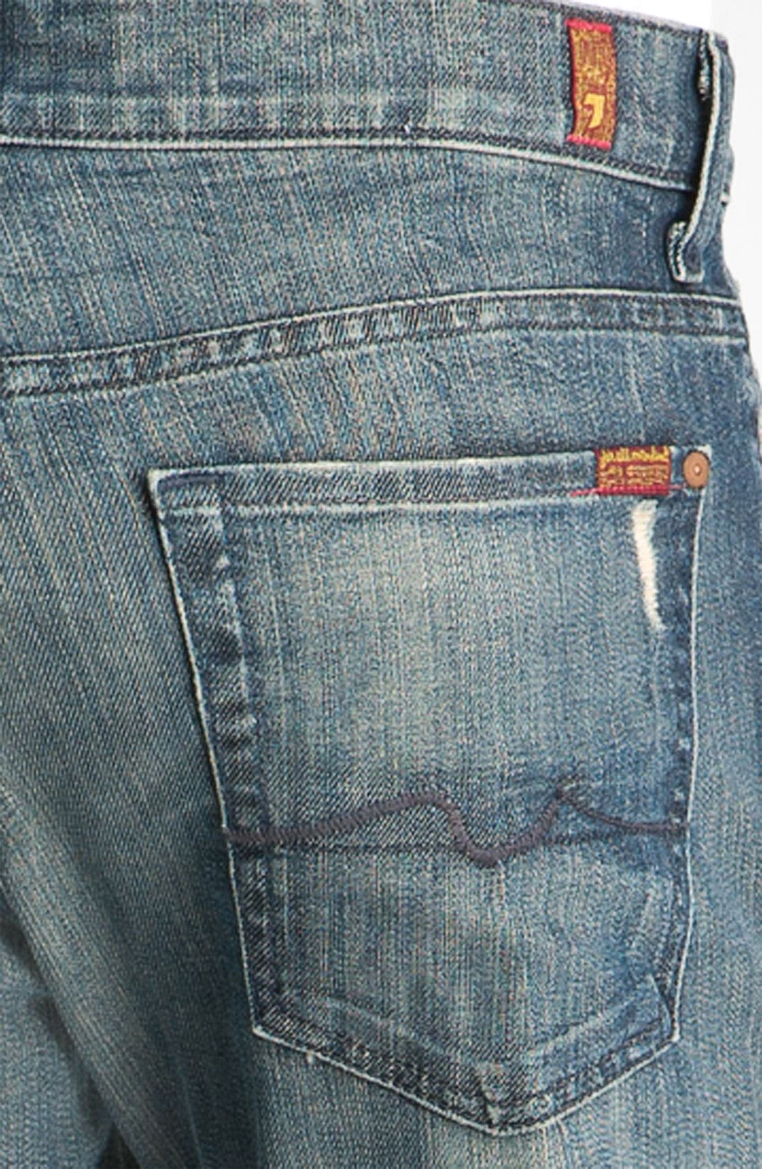 Alternate Image 4  - 7 For All Mankind® 'Austyn' Relaxed Fit Jeans (Melbourne)