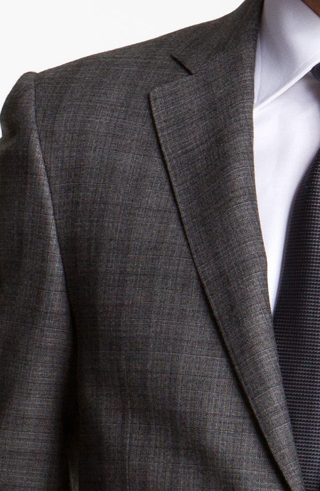 Alternate Image 6  - Canali Stripe Wool Suit