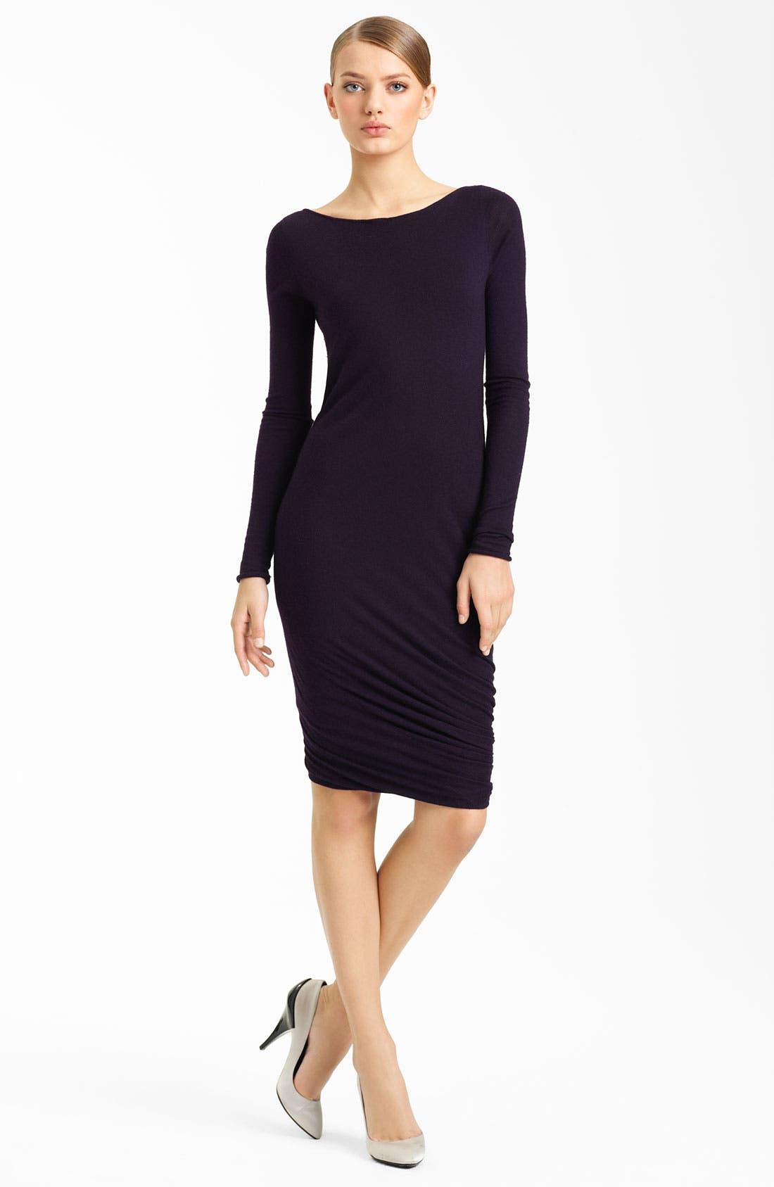 Alternate Image 1 Selected - Donna Karan Collection Twisted Hem Cashmere Dress