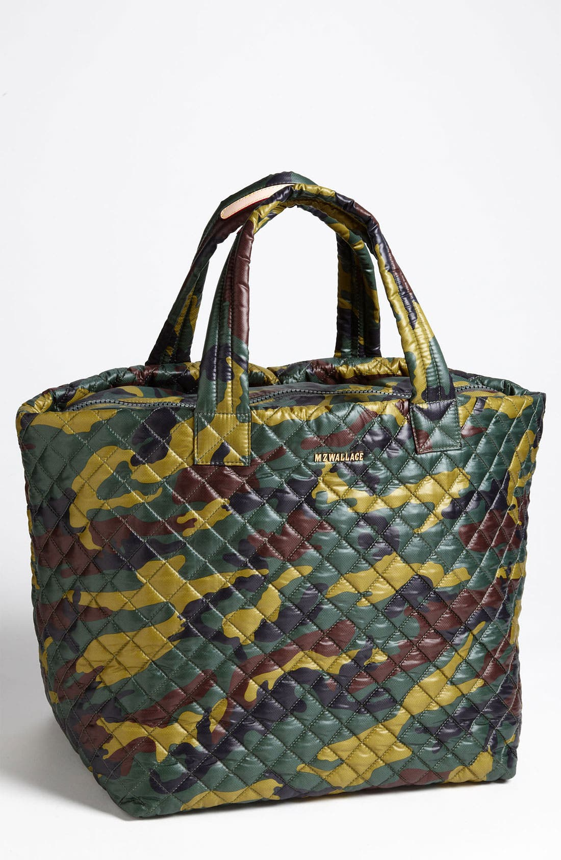 Large Metro Tote,                         Main,                         color, Quilted Camo Oxford Nylon