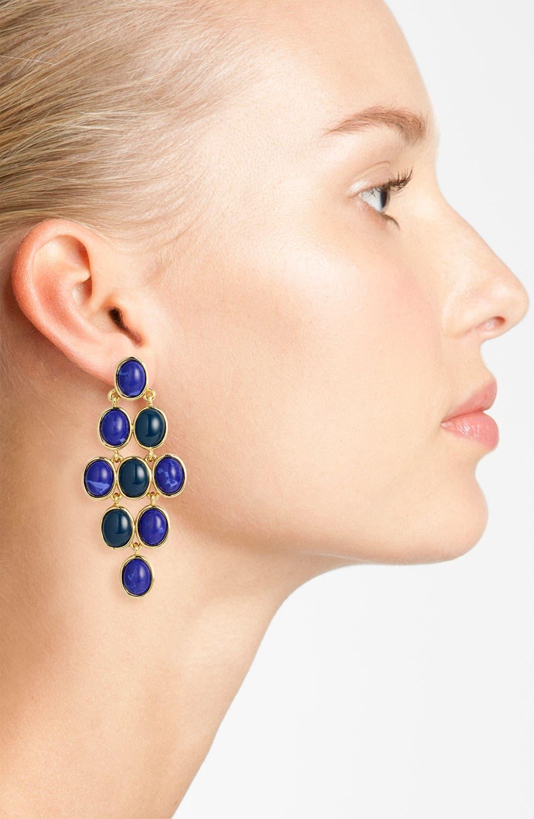 Alternate Image 2  - Nordstrom 'Lapis of Luxury' Kite Earrings