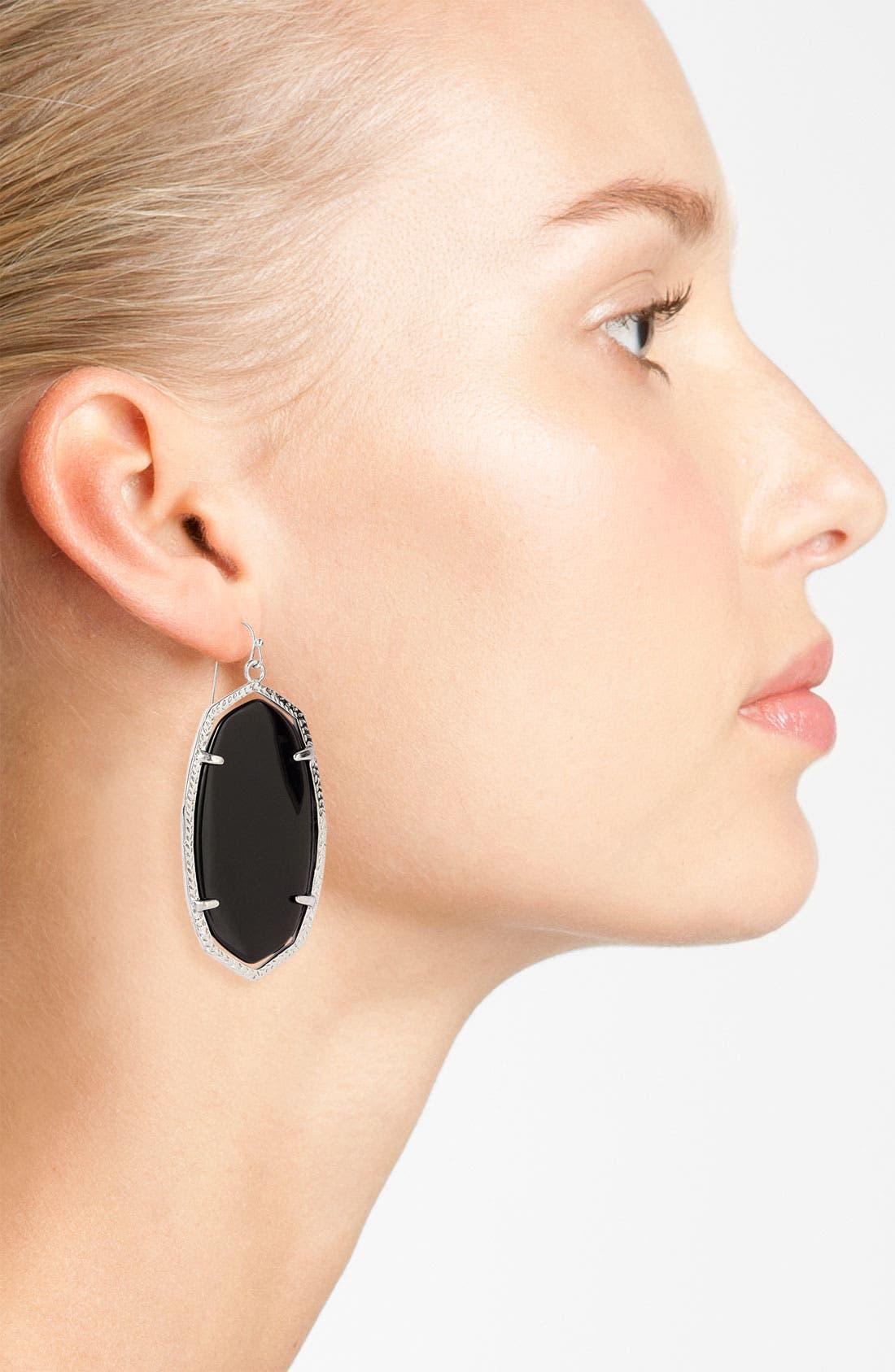 Alternate Image 2  - Kendra Scott 'Danielle' Oval Statement Earrings