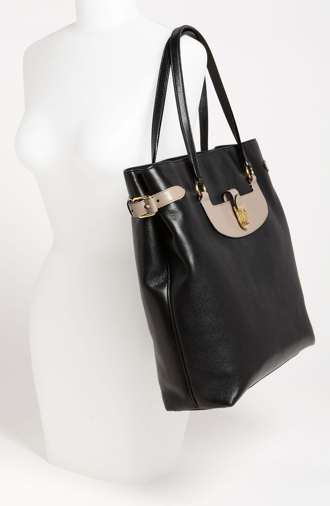 Alternate Image 2  - MARC JACOBS 'Colorblocked Manhattan Mercer' Leather Tote