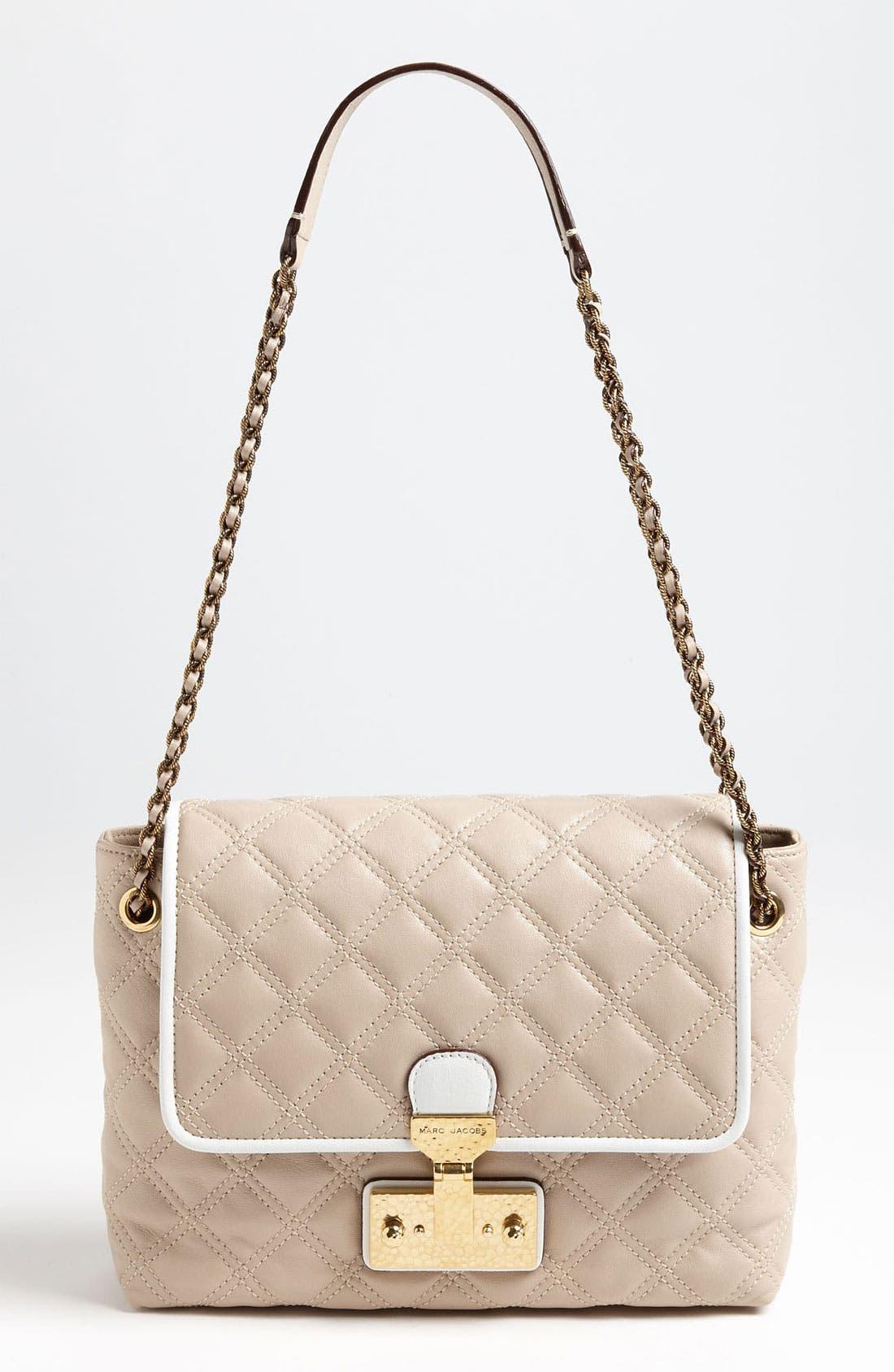 Main Image - MARC JACOBS 'Colorblocked Baroque - Large Single' Shoulder Bag
