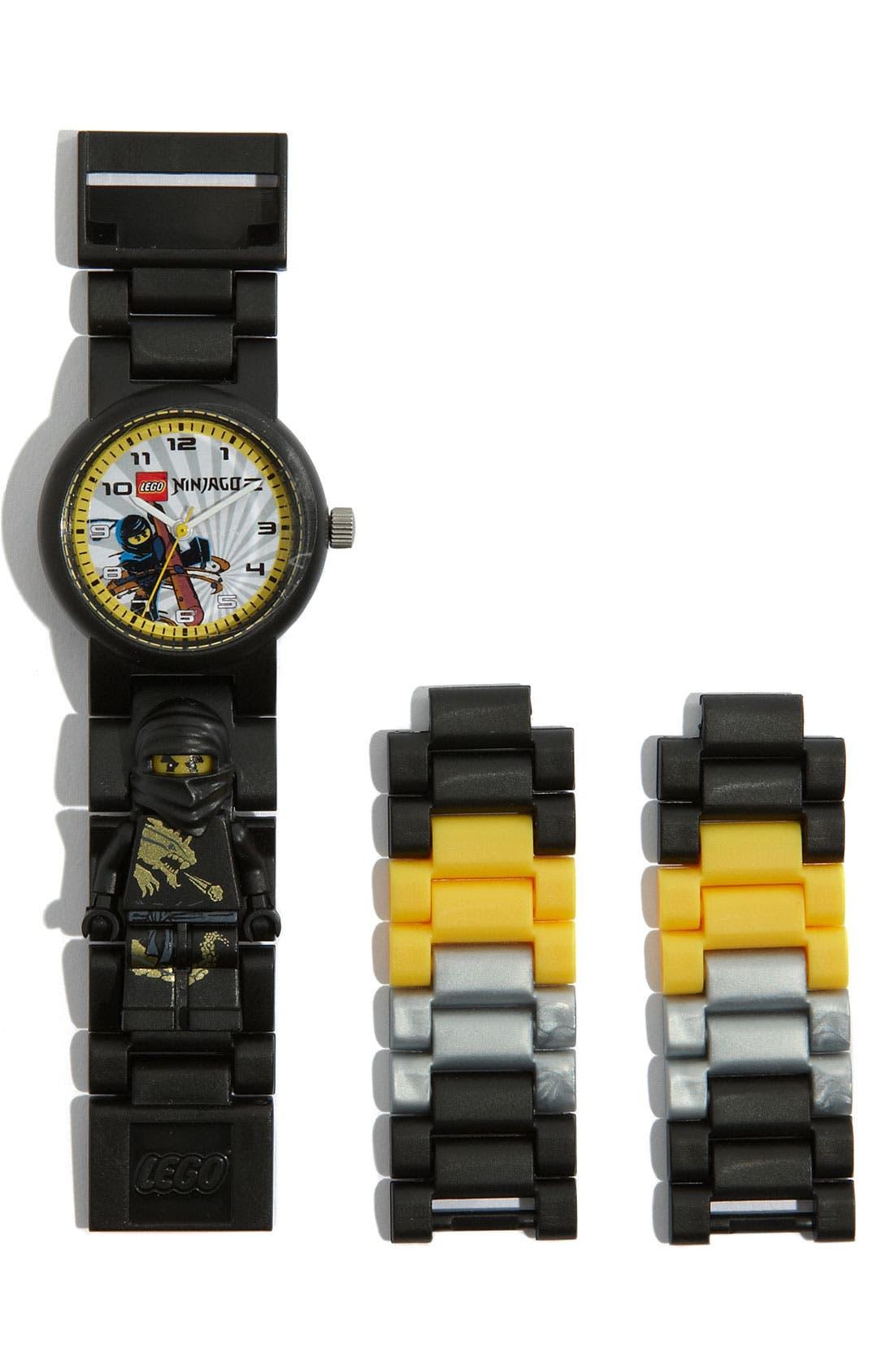 Alternate Image 2  - LEGO® 'Ninjago' Watch & Toy (Boys)