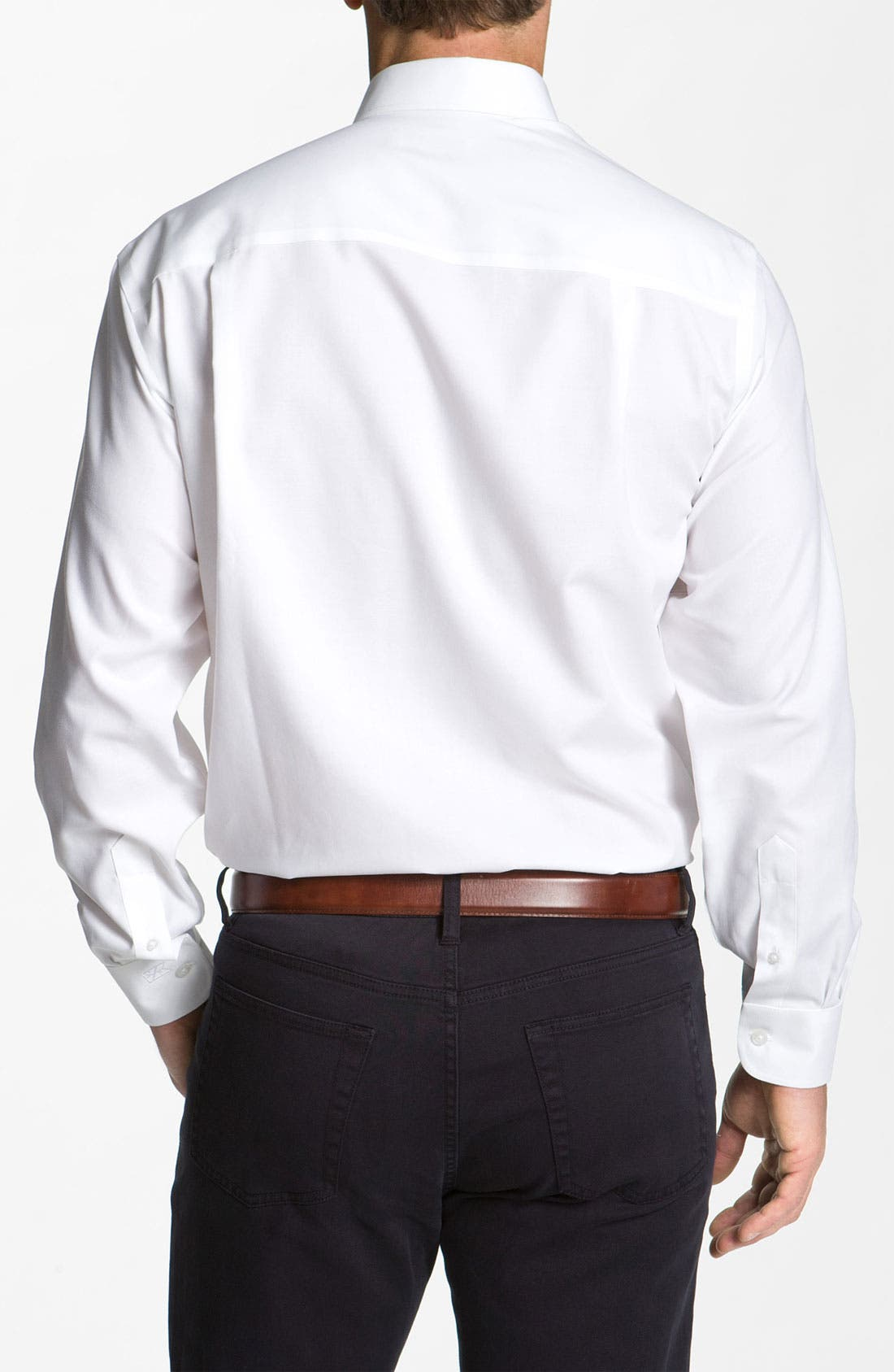 Alternate Image 2  - Cutter & Buck Nailshead - Epic Easy Care Classic Fit Sport Shirt