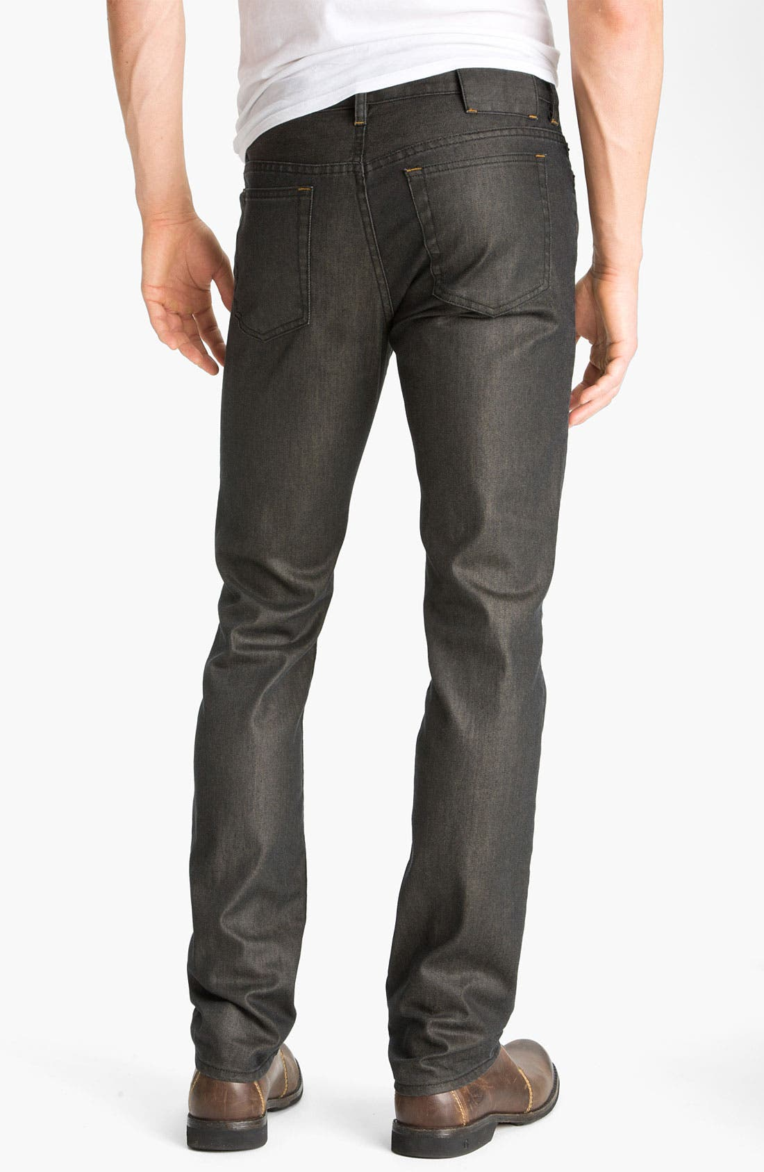 Alternate Image 1 Selected - MARC BY MARC JACOBS Slim Fit Jeans (Darkest Forest)