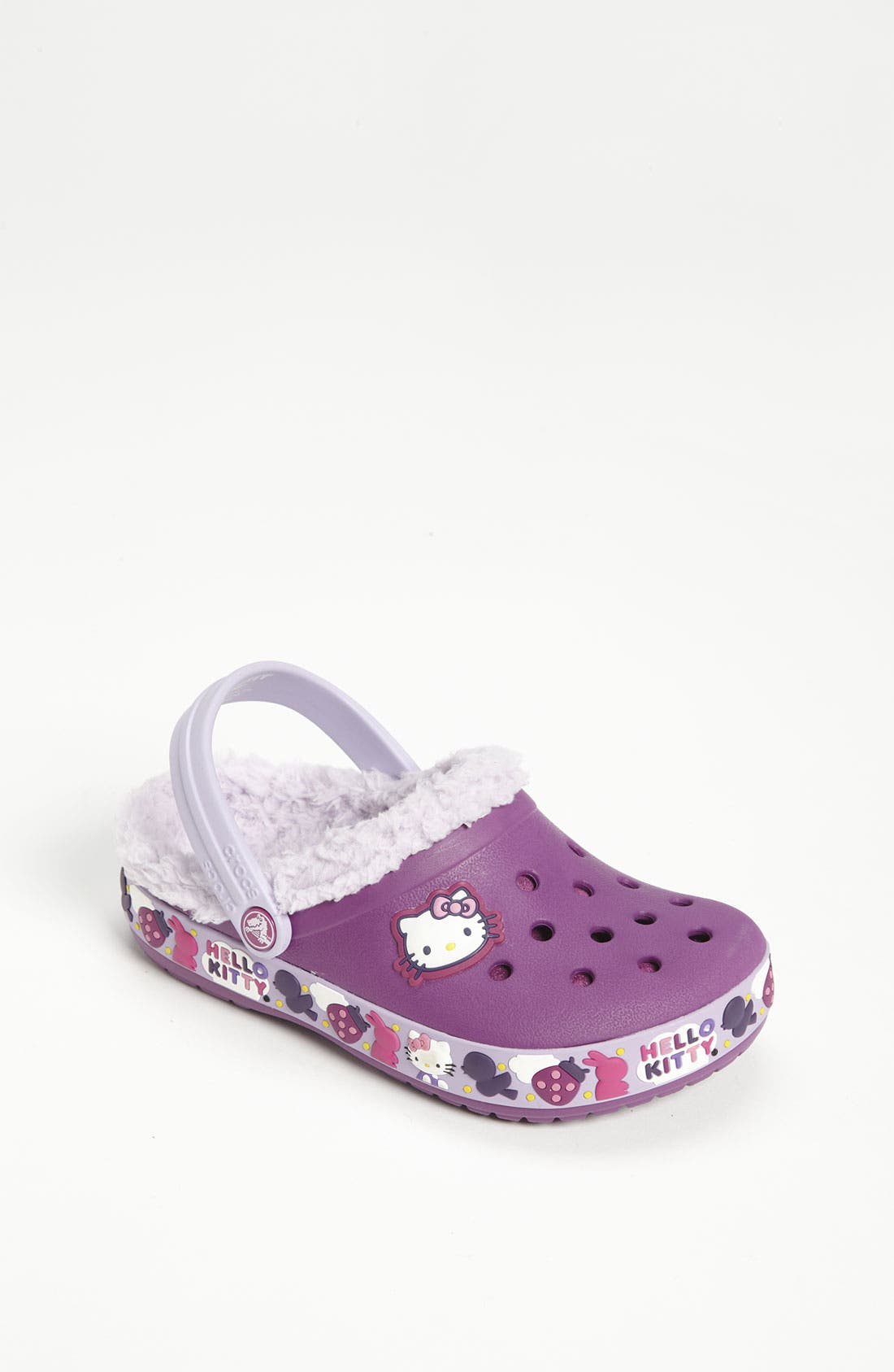 Main Image - CROCS™ 'Hello Kitty®' Slip-On (Walker & Toddler)