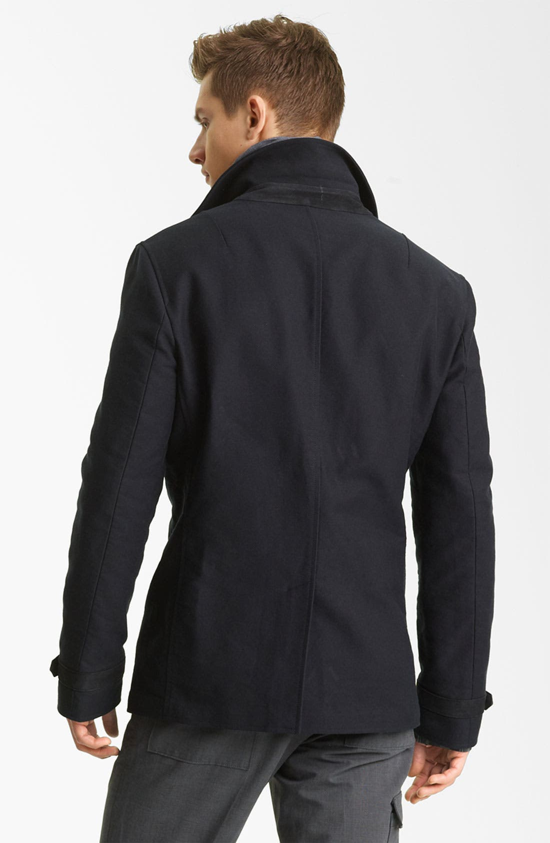 Alternate Image 2  - John Varvatos Collection Peacoat