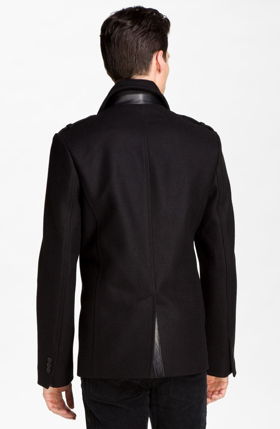 Alternate Image 2  - Zadig & Voltaire Double Breasted Peacoat