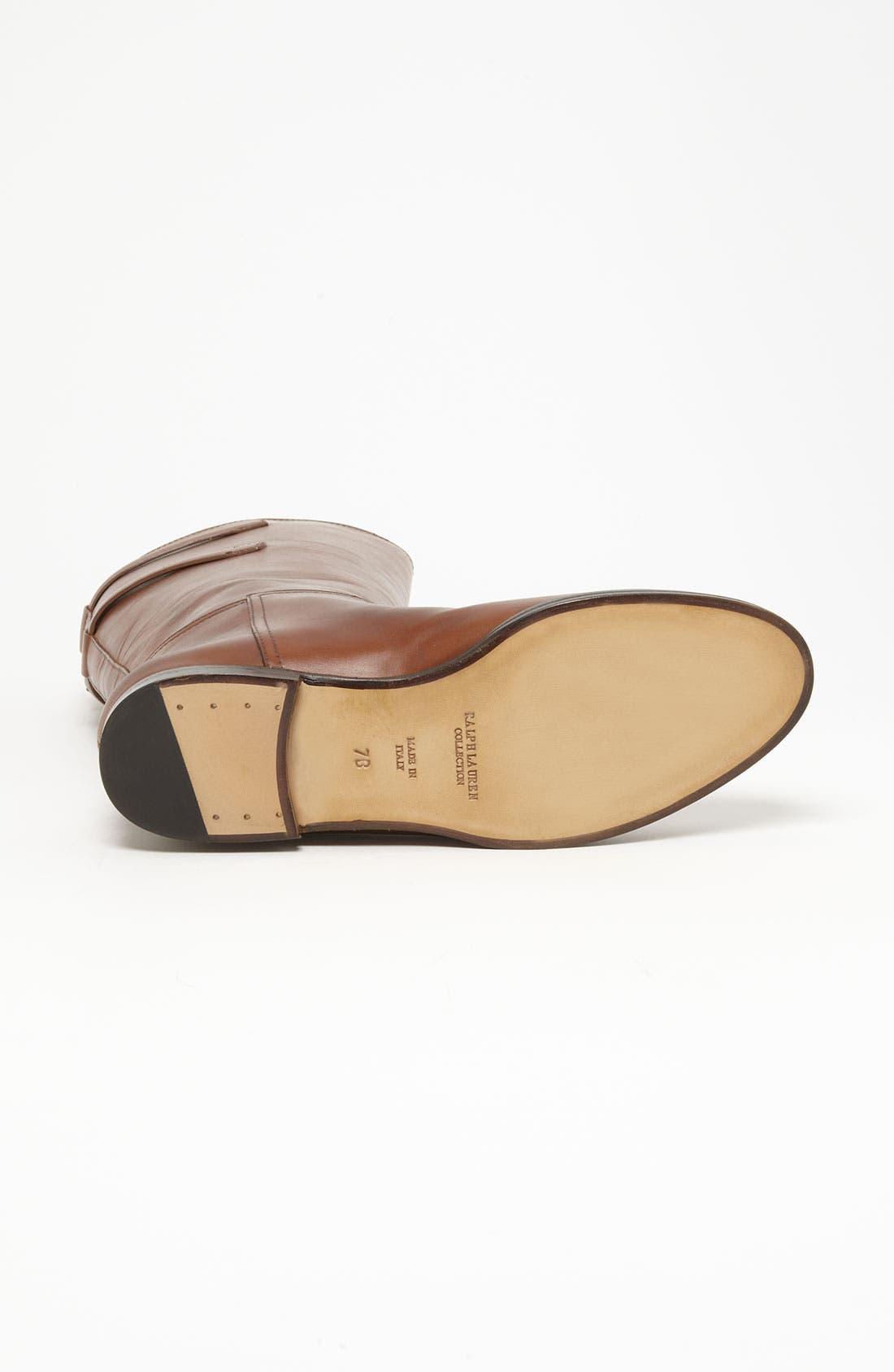 Alternate Image 4  - Ralph Lauren Collection 'Sachi' Boot