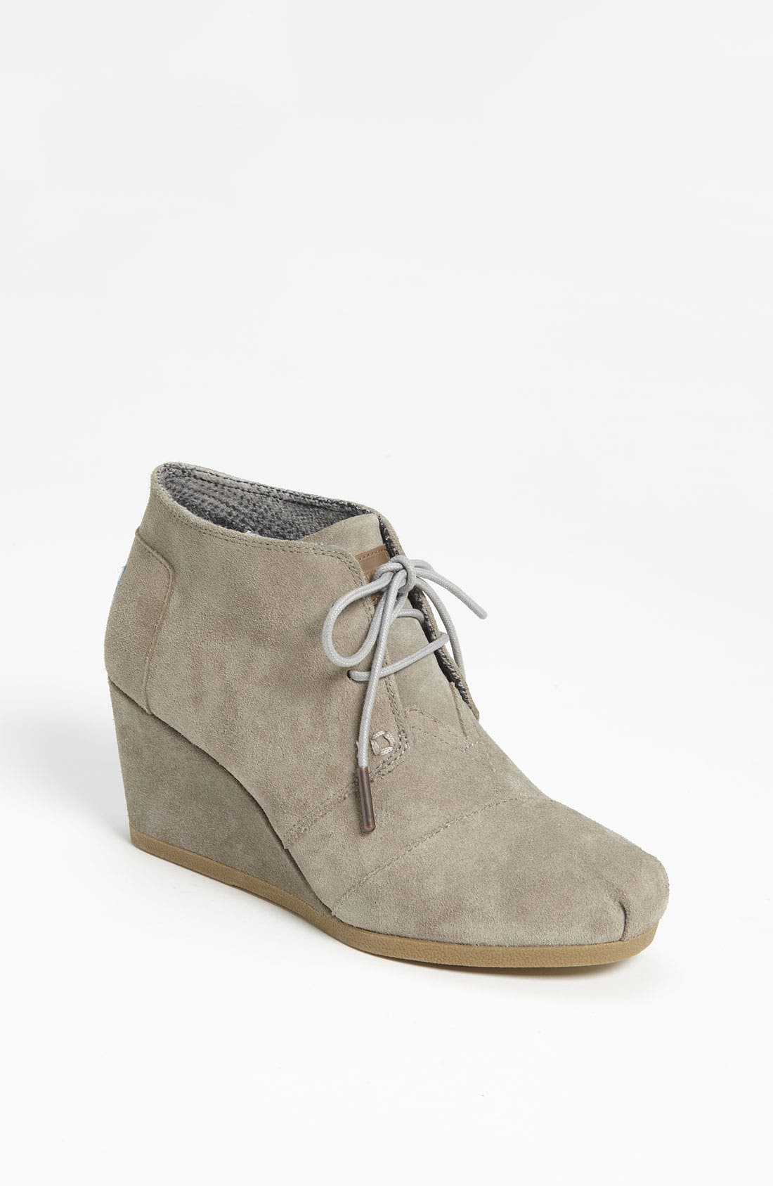 'Desert' Bootie,                             Main thumbnail 1, color,                             Taupe Suede