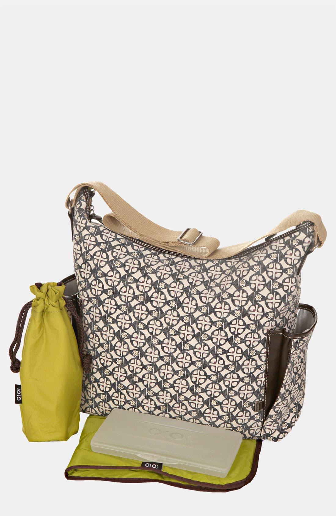 Alternate Image 1 Selected - OiOi 'Safari Medallion' Diaper Bag