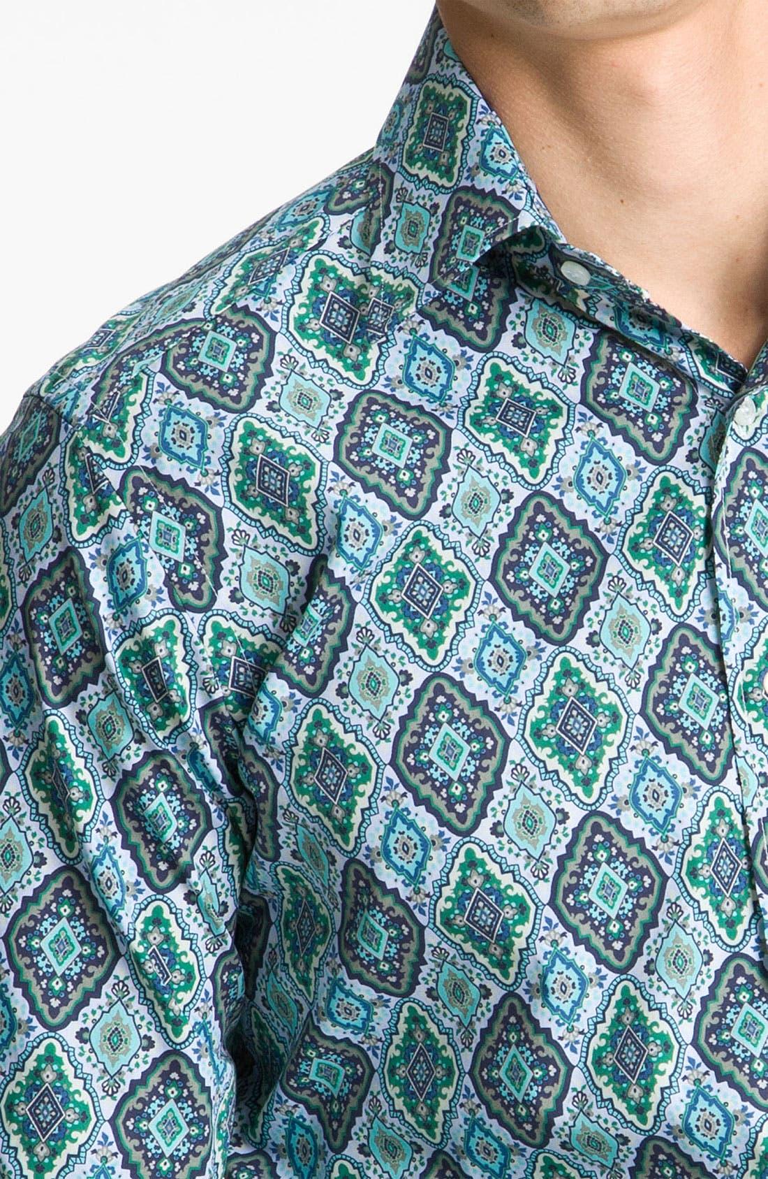 Alternate Image 3  - Etro 'Diamond' Print Shirt