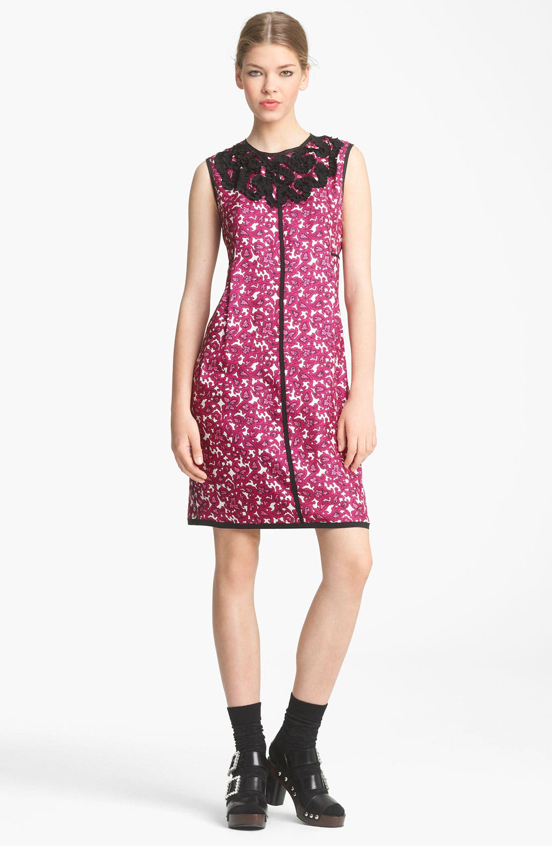 Alternate Image 1 Selected - MARC JACOBS Embroidered Shift Dress