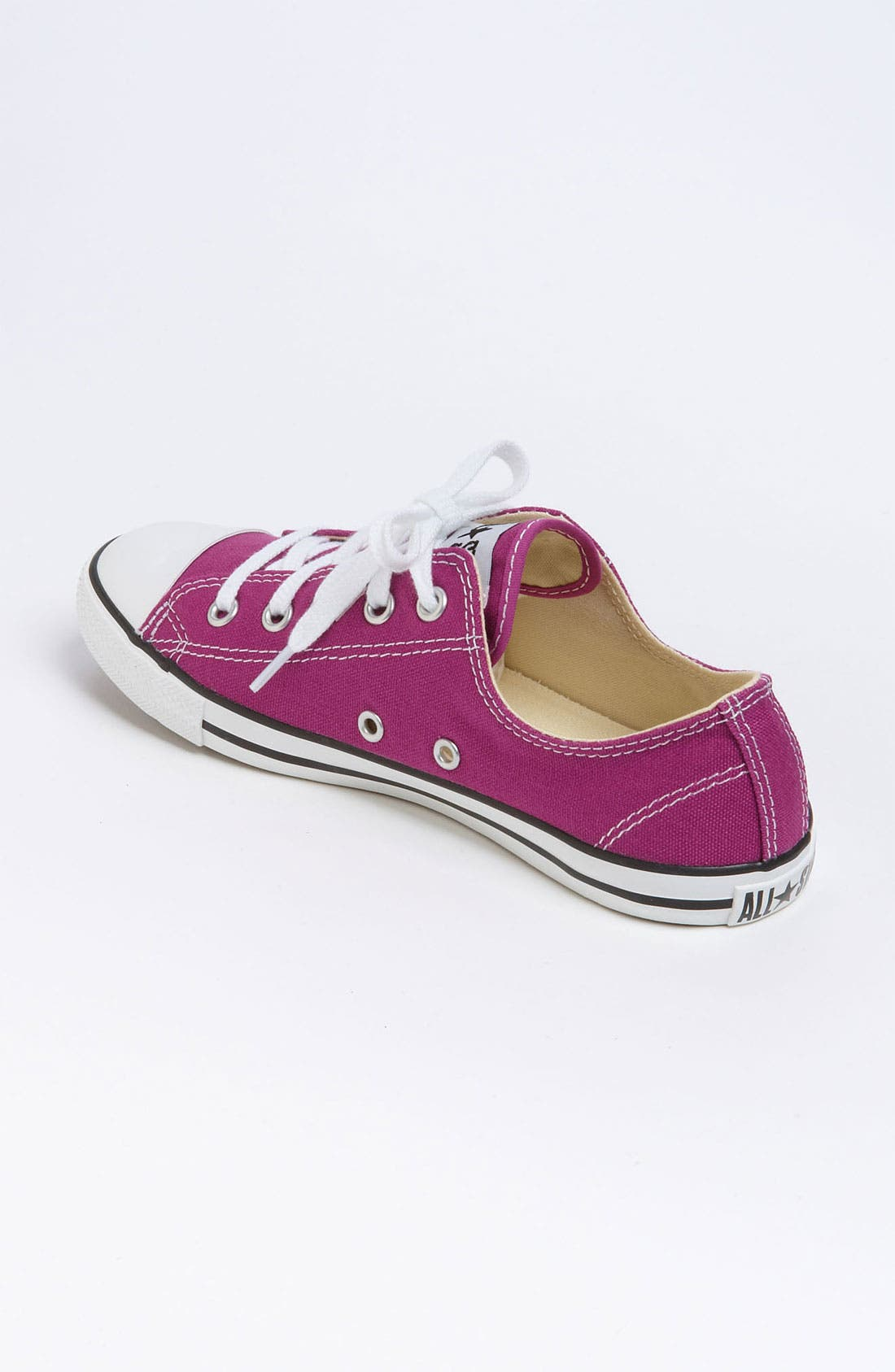 Chuck Taylor<sup>®</sup> 'Dainty' Sneaker,                             Alternate thumbnail 2, color,                             Deep Orchid