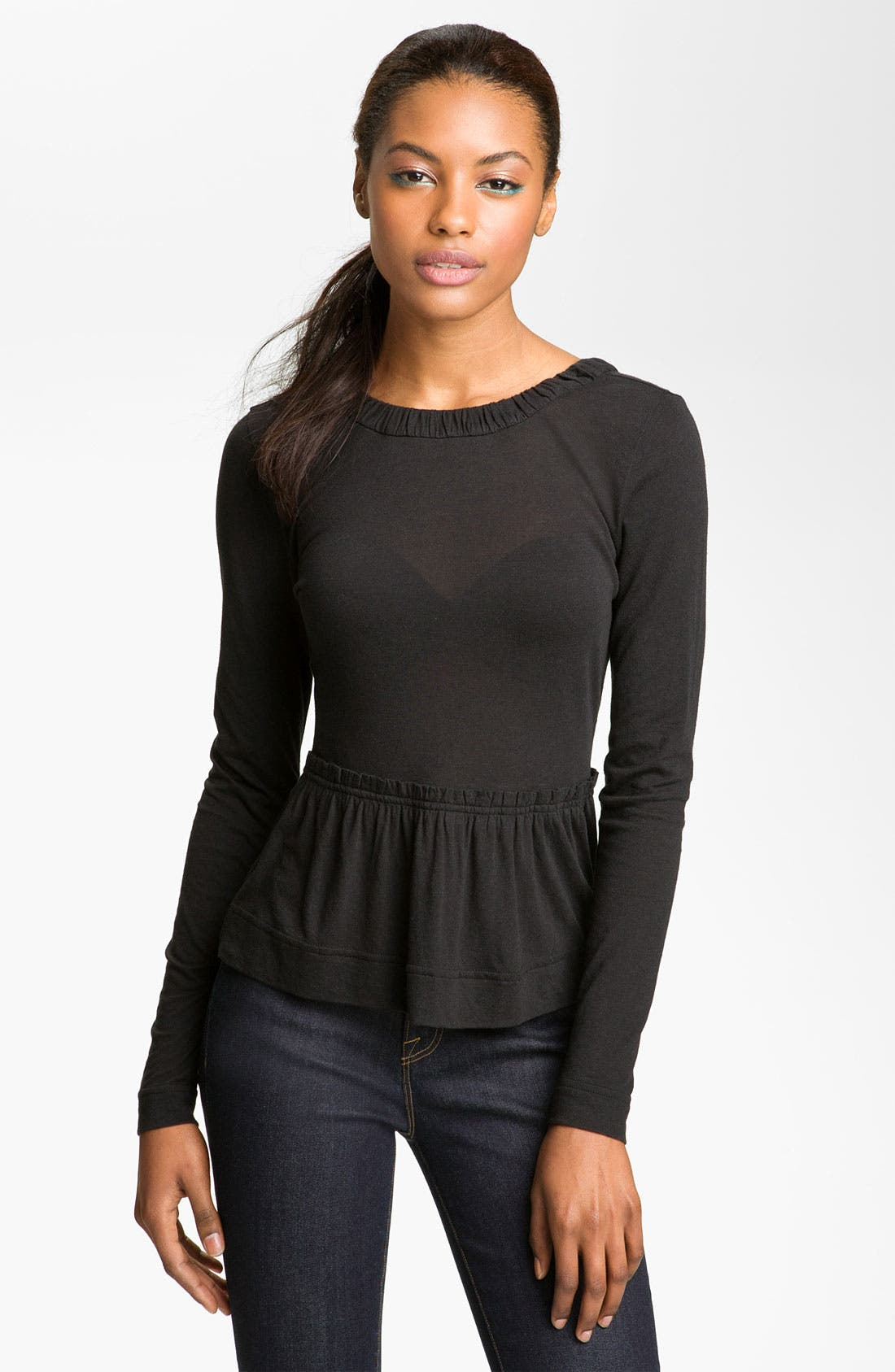 Alternate Image 1 Selected - MARC BY MARC JACOBS 'Ingrid' Ruffle Top