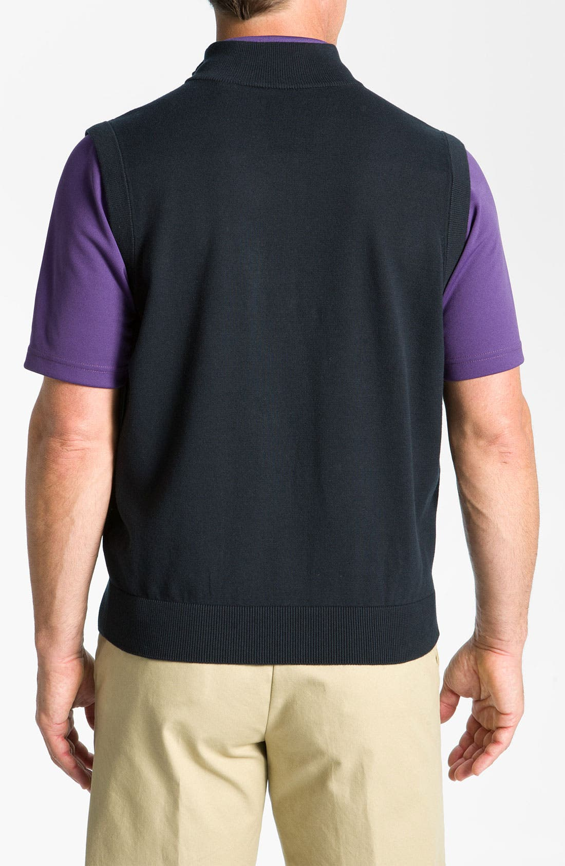 Alternate Image 2  - Callaway Golf® Quarter Zip Vest
