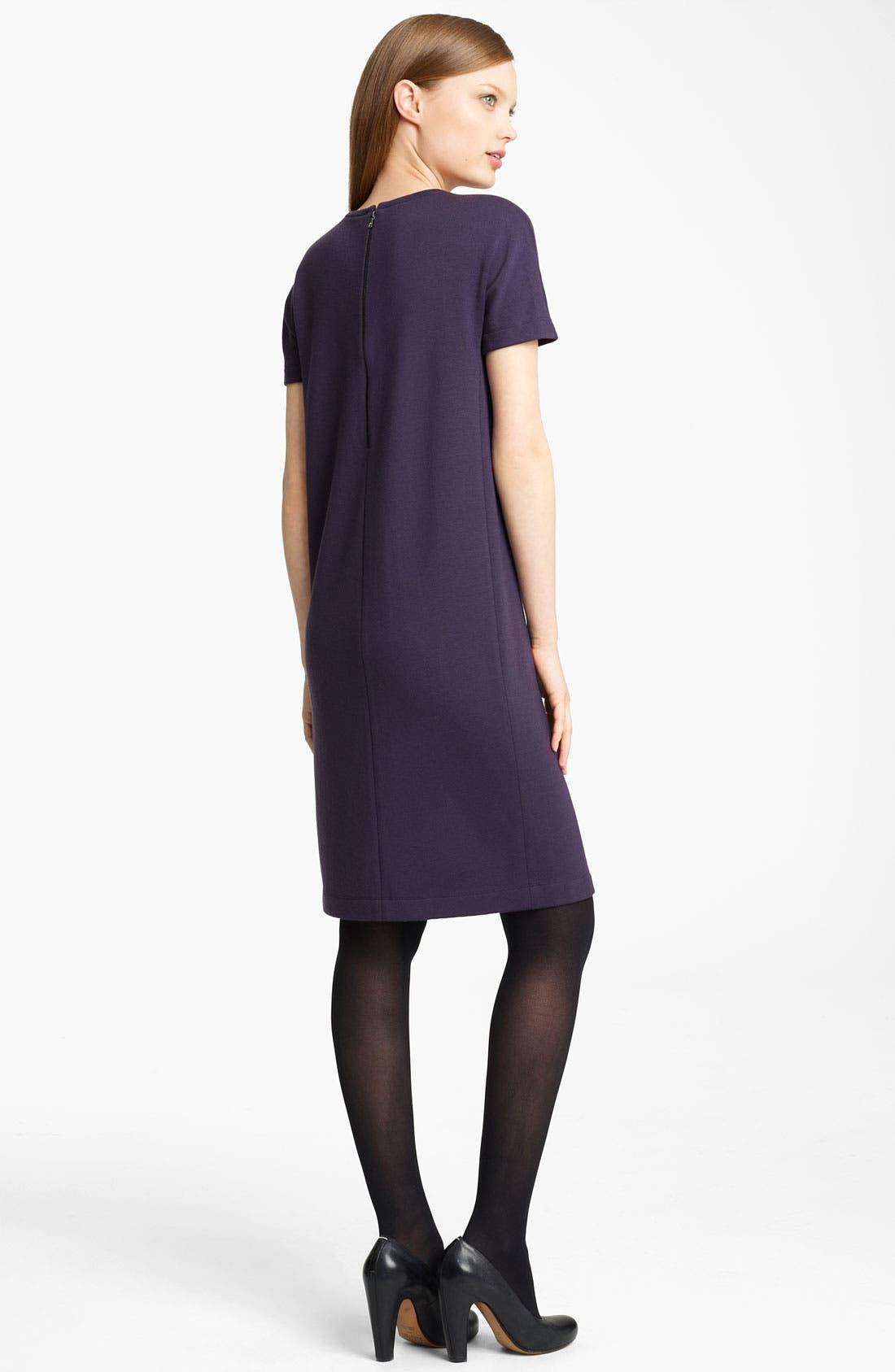 Alternate Image 2  - Lida Baday Knit Wool Sheath Dress