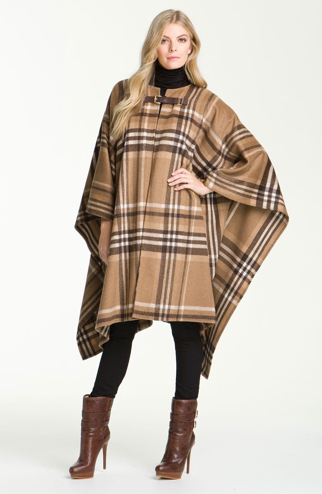 Alternate Image 1 Selected - MICHAEL Michael Kors Buckled Blanket Coat
