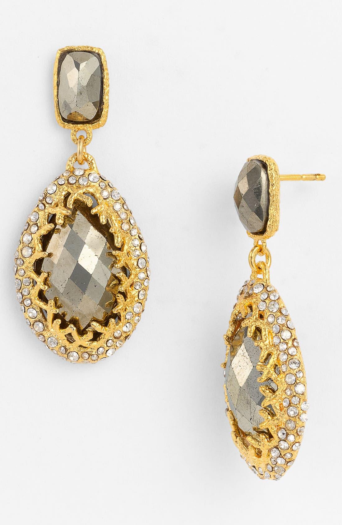 Alternate Image 1 Selected - Alexis Bittar 'Elements' Crown Set Drop Earrings (Nordstrom Exclusive)
