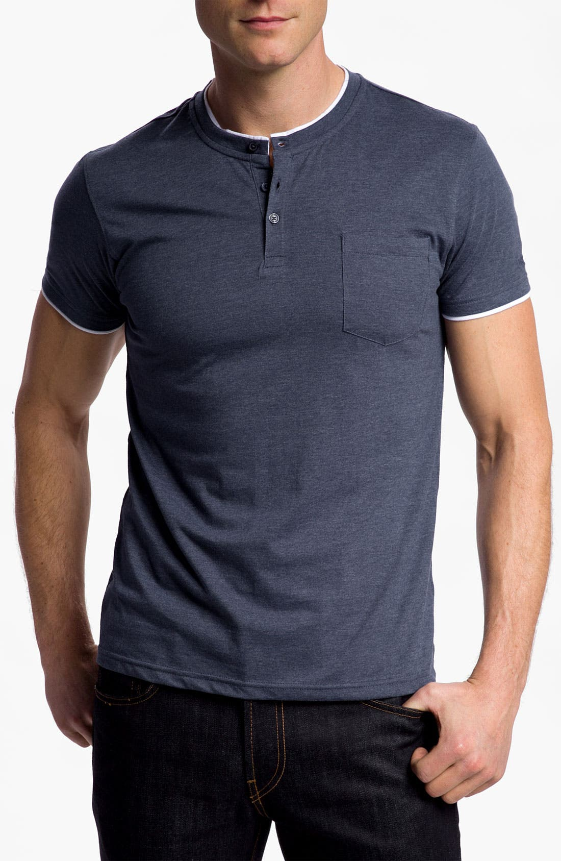 Main Image - Ben Sherman Short Sleeve Henley