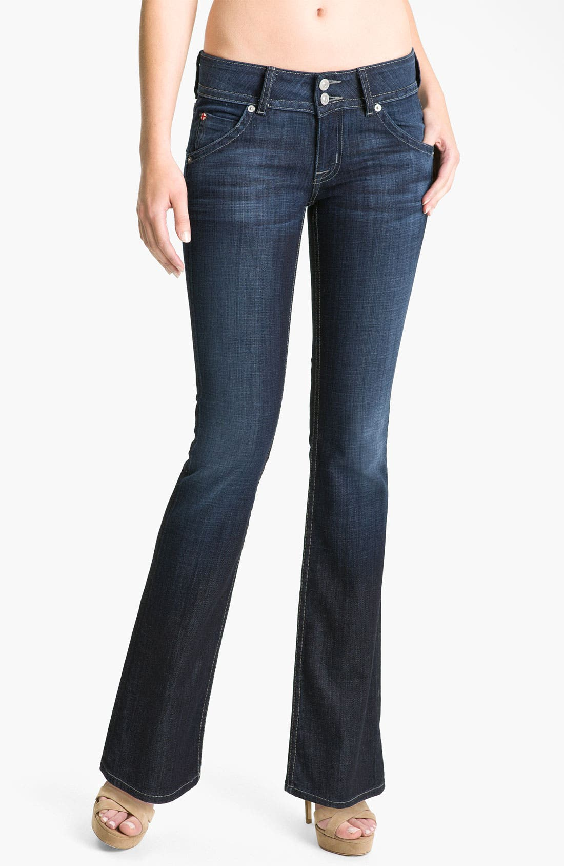 Alternate Image 1 Selected - Hudson Jeans Signature Flap Pocket Bootcut Jeans (Bowery)