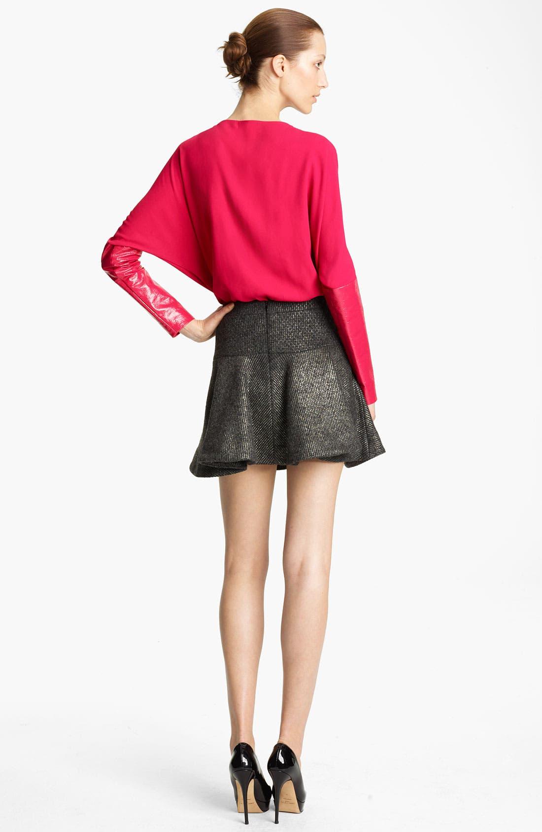 Alternate Image 3  - Thakoon Foiled Knit Skirt