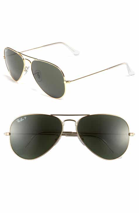 4560a240c2 Ray-Ban  Polarized Original Aviator  58mm Sunglasses