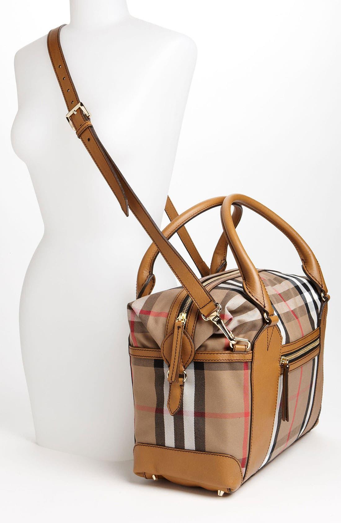 Alternate Image 2  - Burberry 'House Check' Diaper Bag