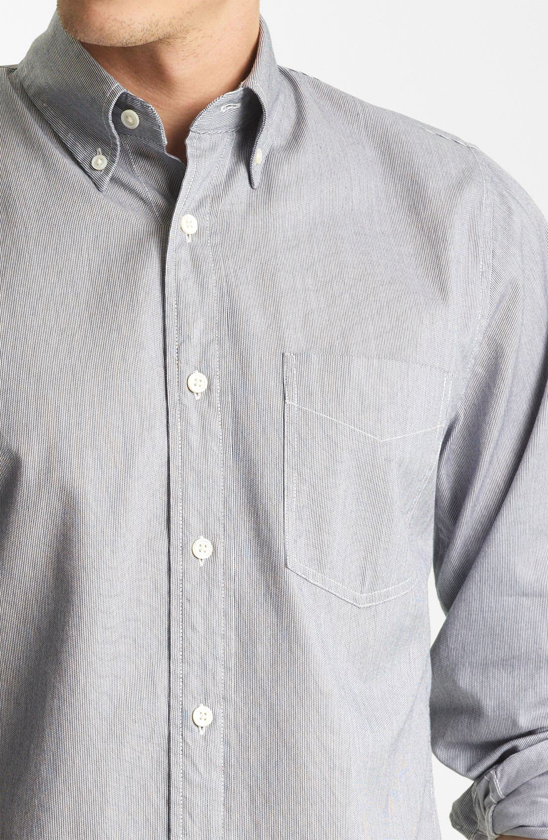 Alternate Image 3  - Jack Spade 'Mills' Stripe Sport Shirt