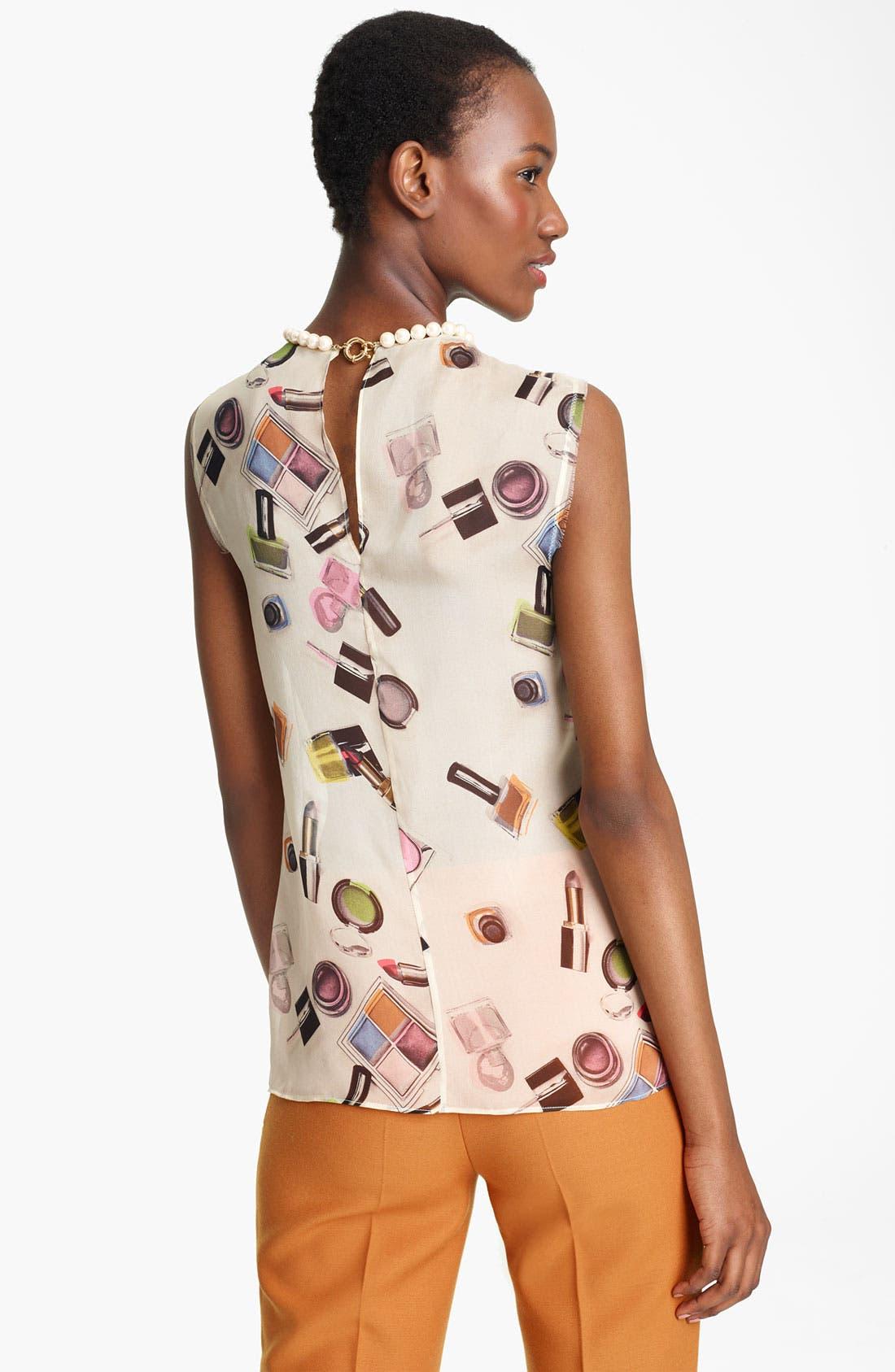 Alternate Image 2  - Moschino Cheap & Chic Print Blouse