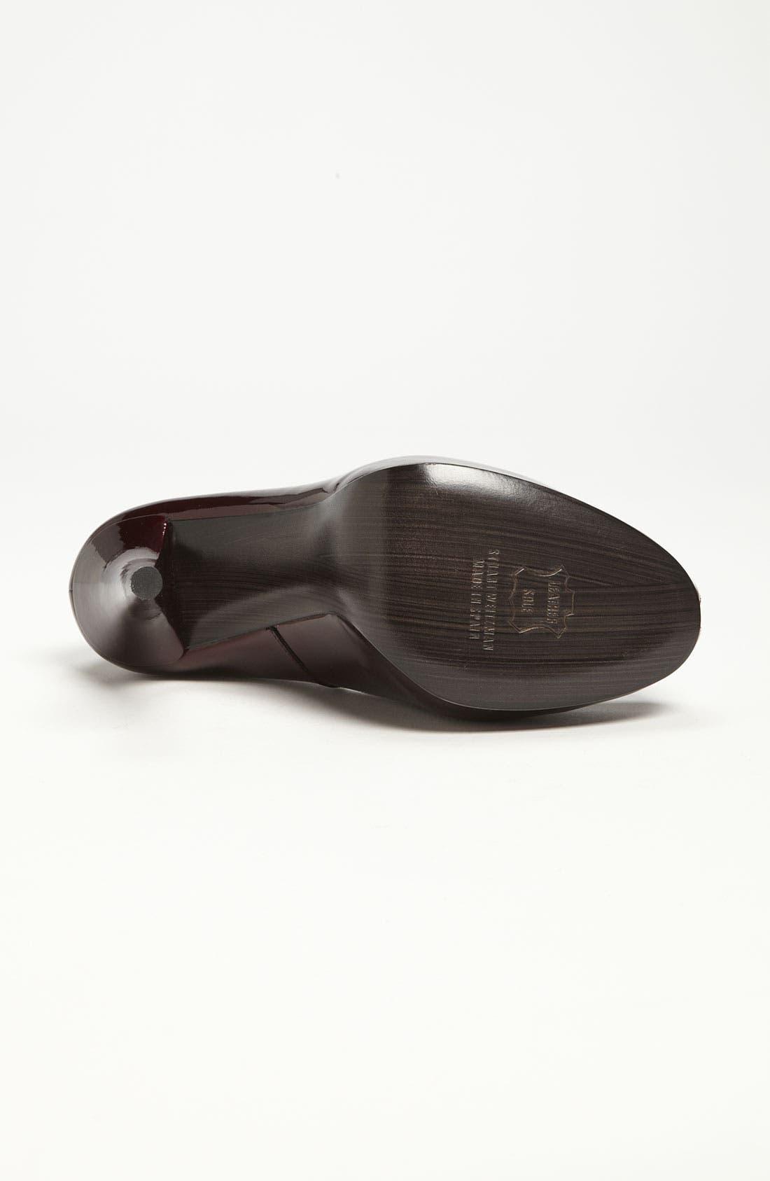 Alternate Image 4  - Stuart Weitzman 'Victoria' Peep Toe Pump