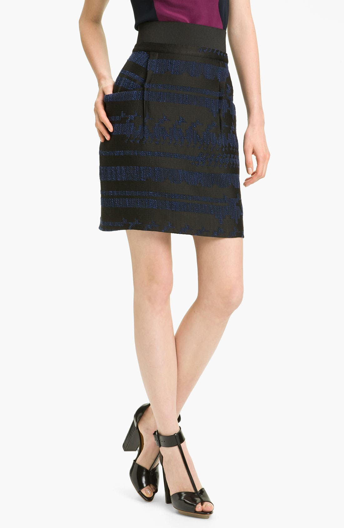 Alternate Image 1 Selected - 3.1 Phillip Lim Jacquard Skirt