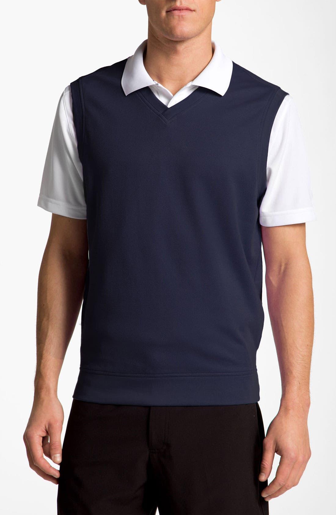 Alternate Image 1 Selected - Bobby Jones Piqué Sweater Vest