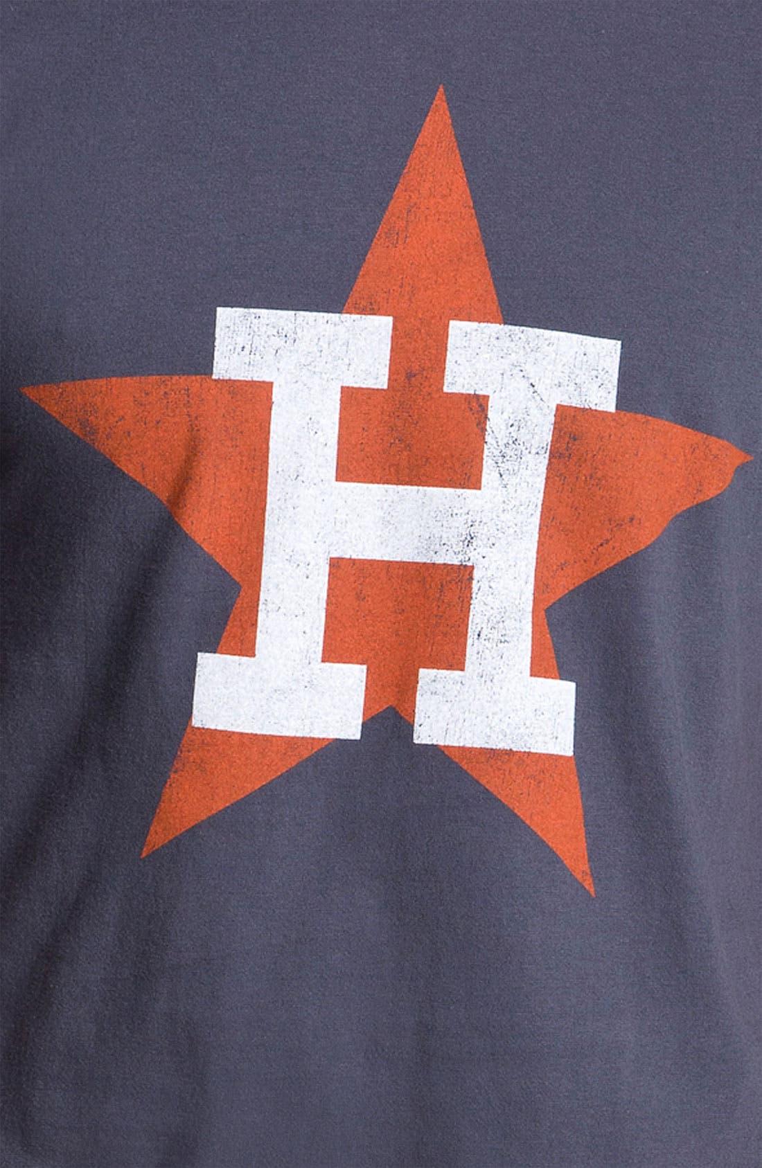 Alternate Image 2  - Wright & Ditson 'Houston Astros' Baseball T-Shirt