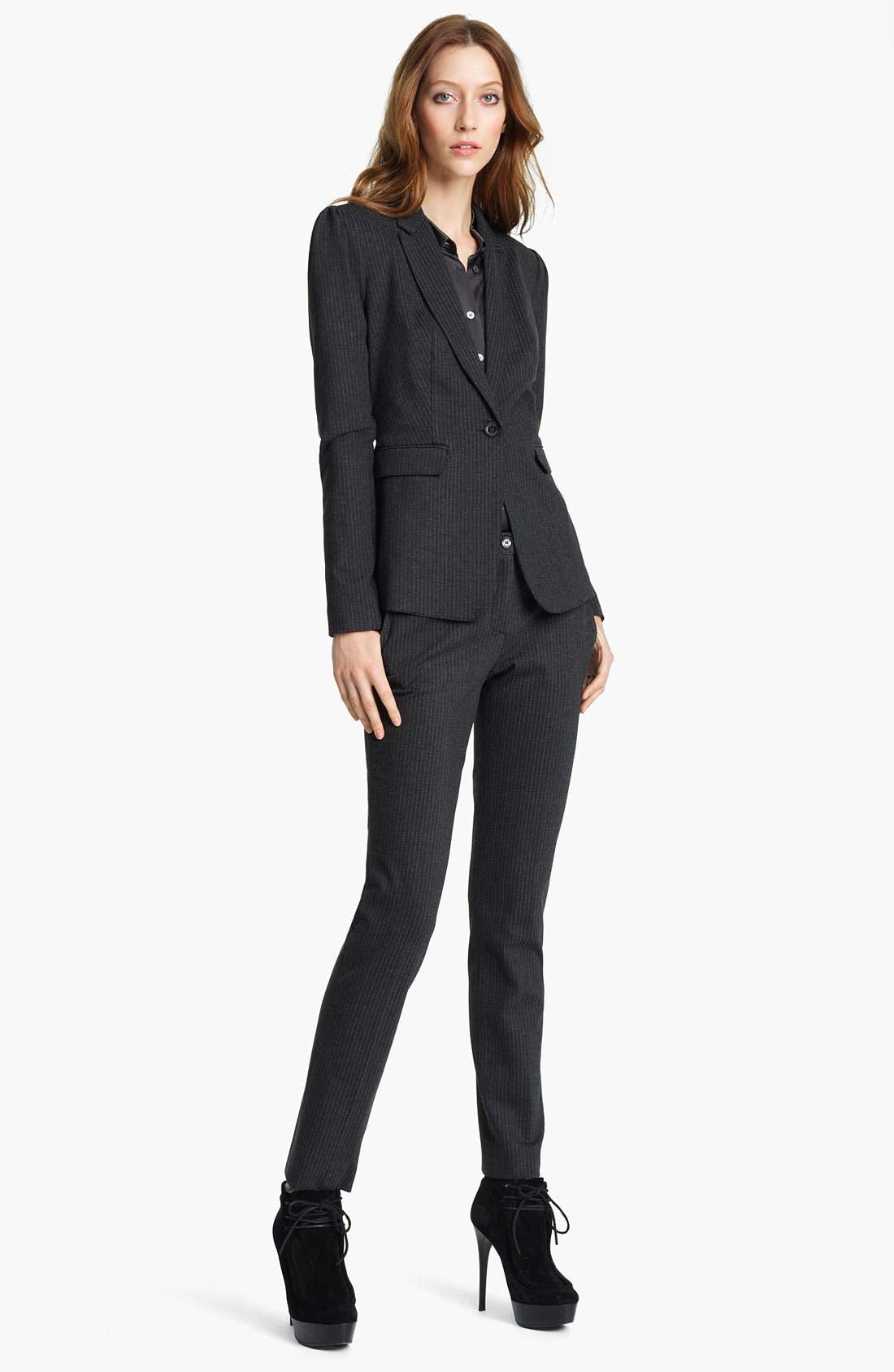 Main Image - Burberry London Pinstripe Jacket