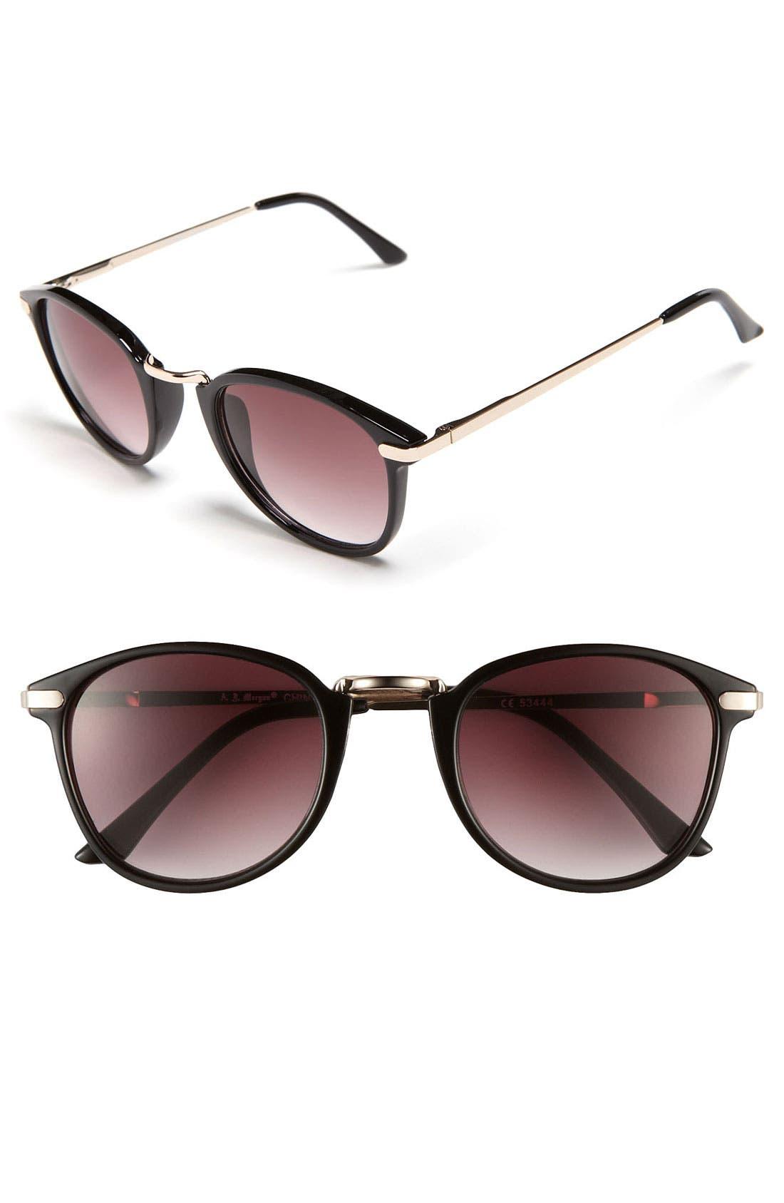 Main Image - A.J. Morgan 48mm 'Castro' Sunglasses